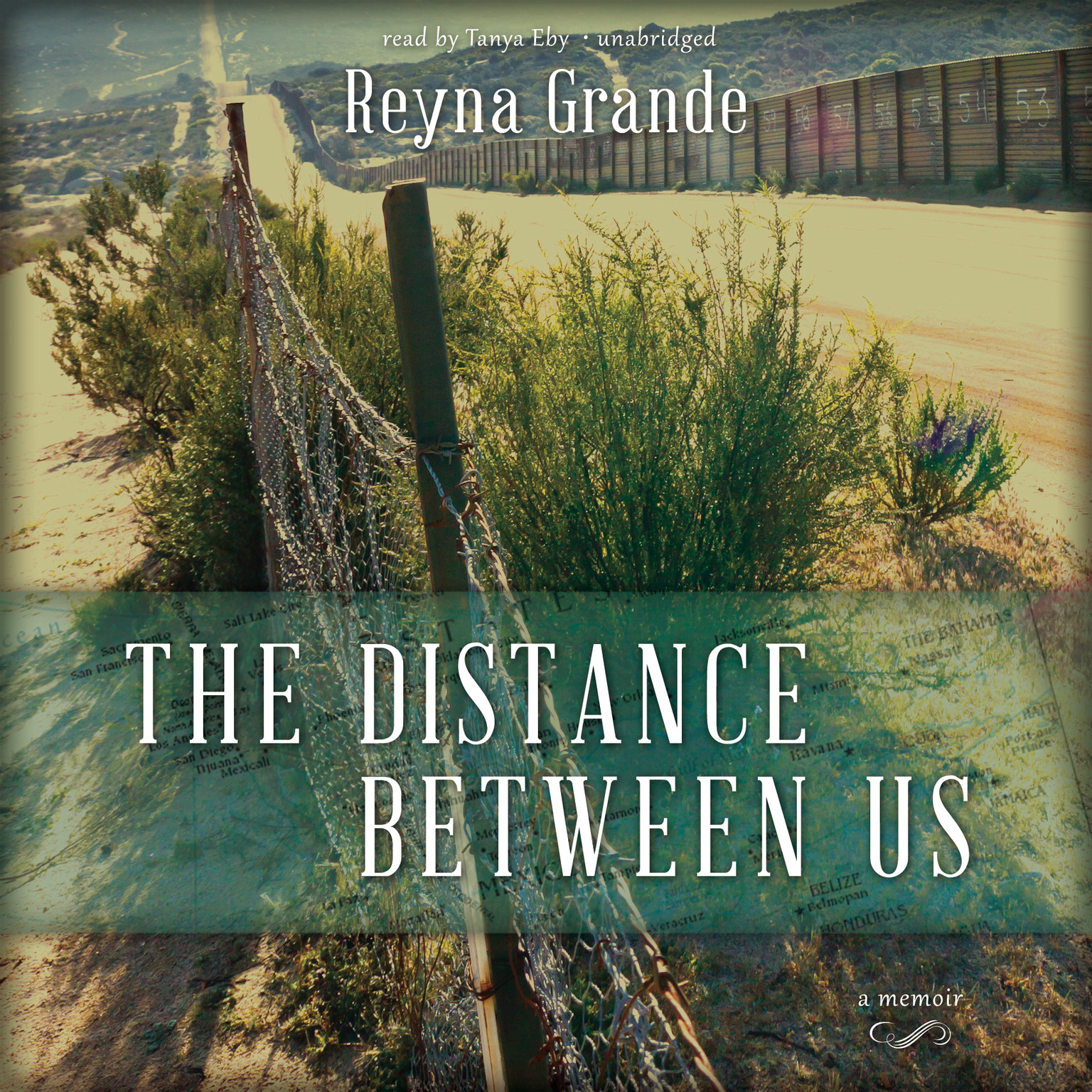 Printable The Distance between Us: A Memoir Audiobook Cover Art