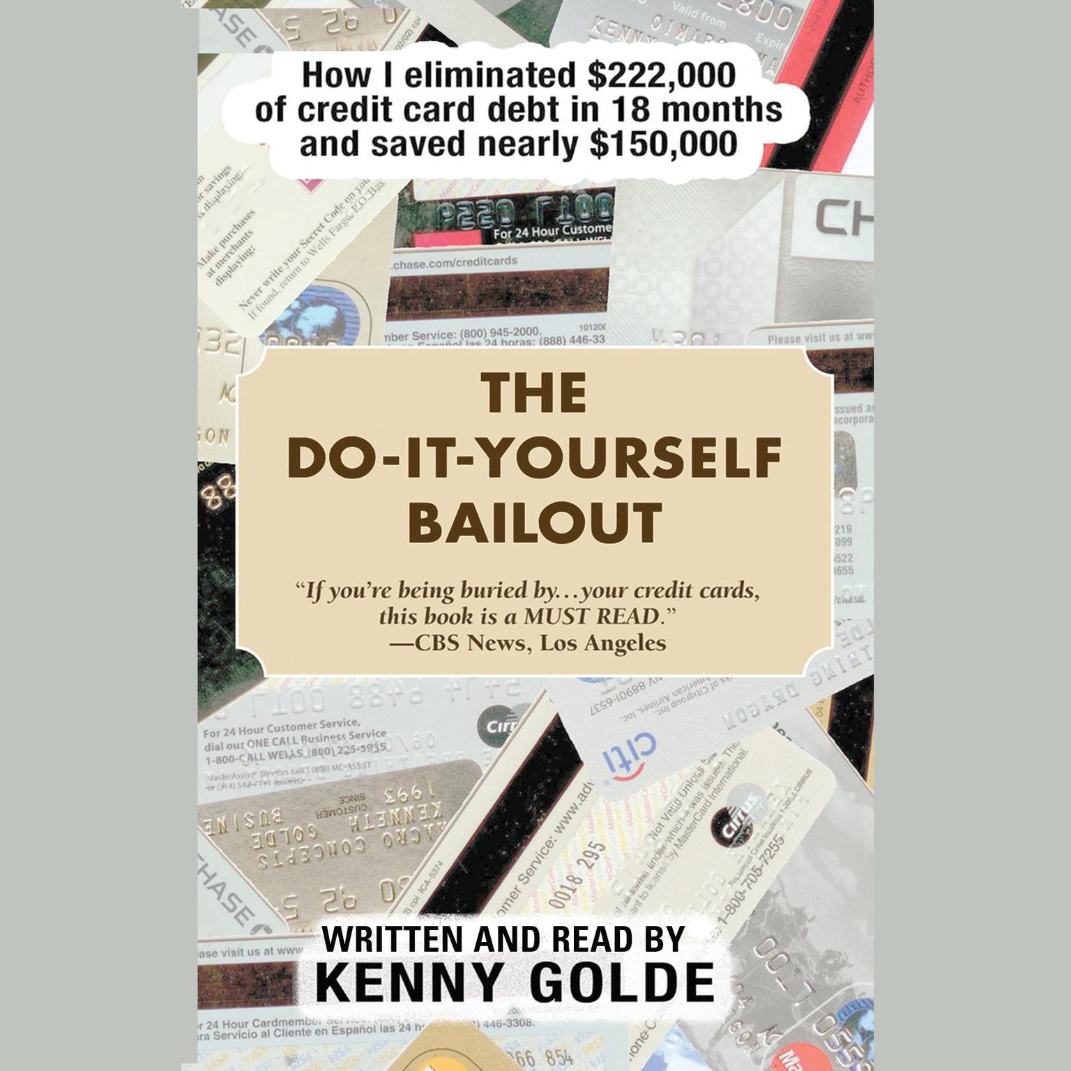 Printable The Do-It-Yourself Bailout: How I Eliminated $222,000 of Credit Card Debt in Eighteen Months and Saved Nearly $150,000 Audiobook Cover Art