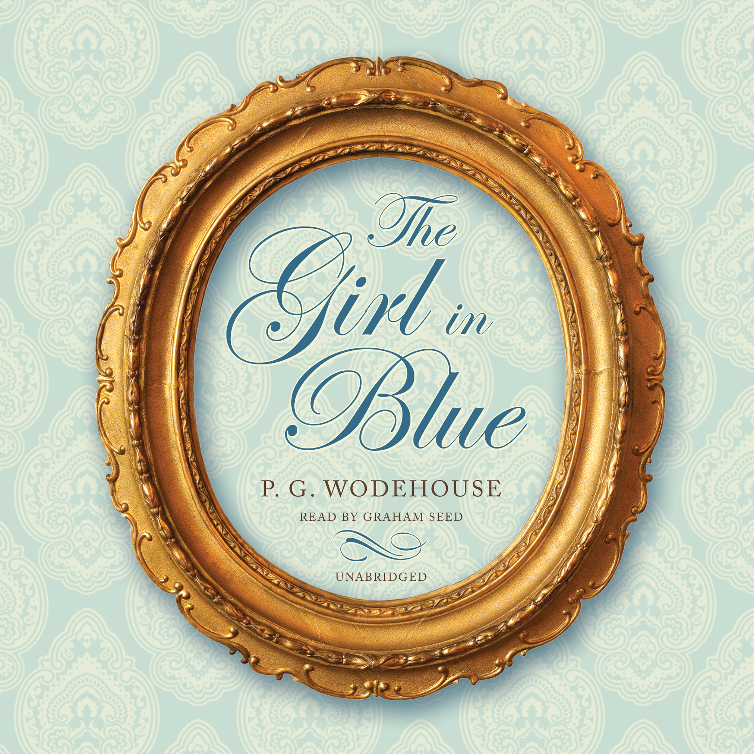 Printable The Girl in Blue Audiobook Cover Art