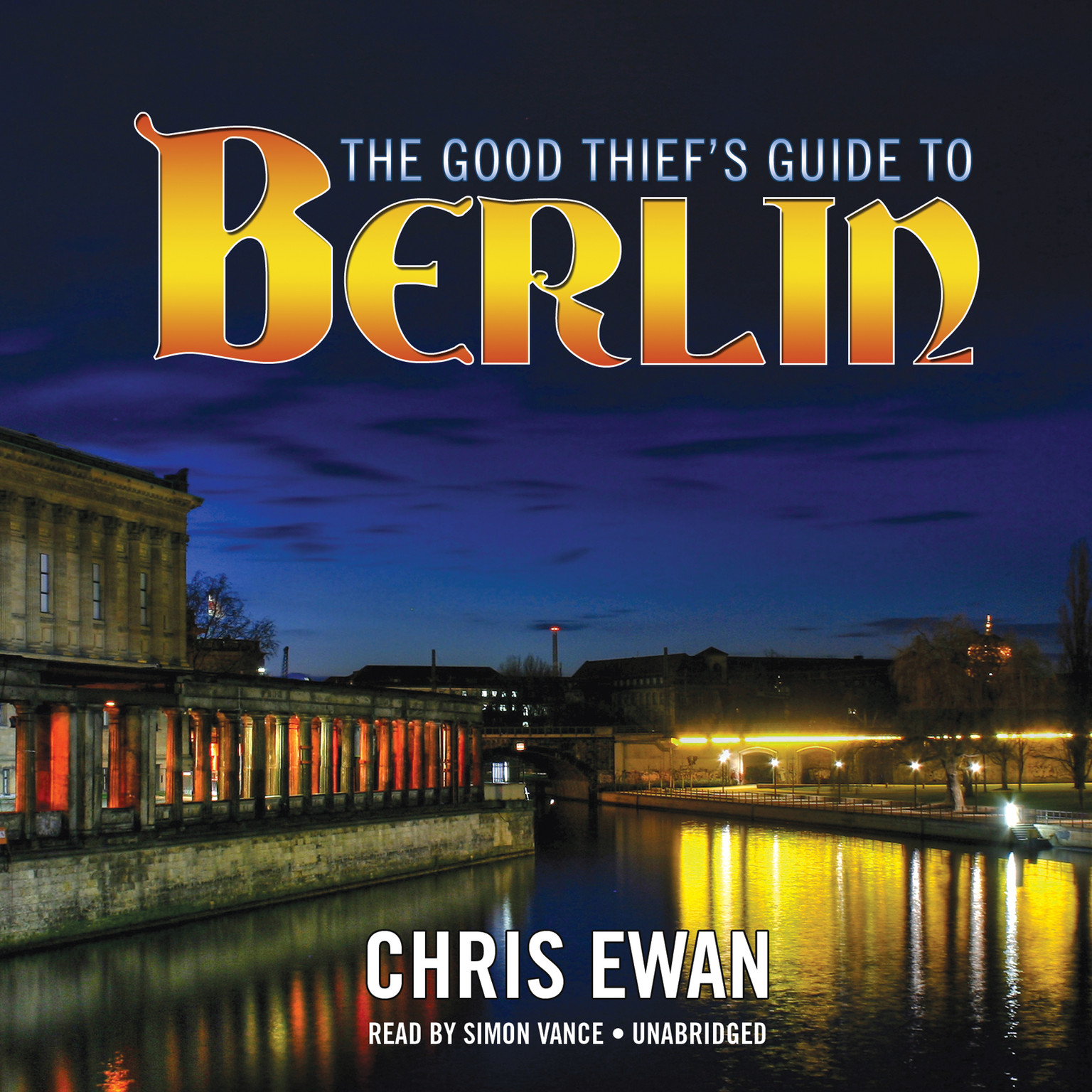 Printable The Good Thief's Guide to Berlin Audiobook Cover Art