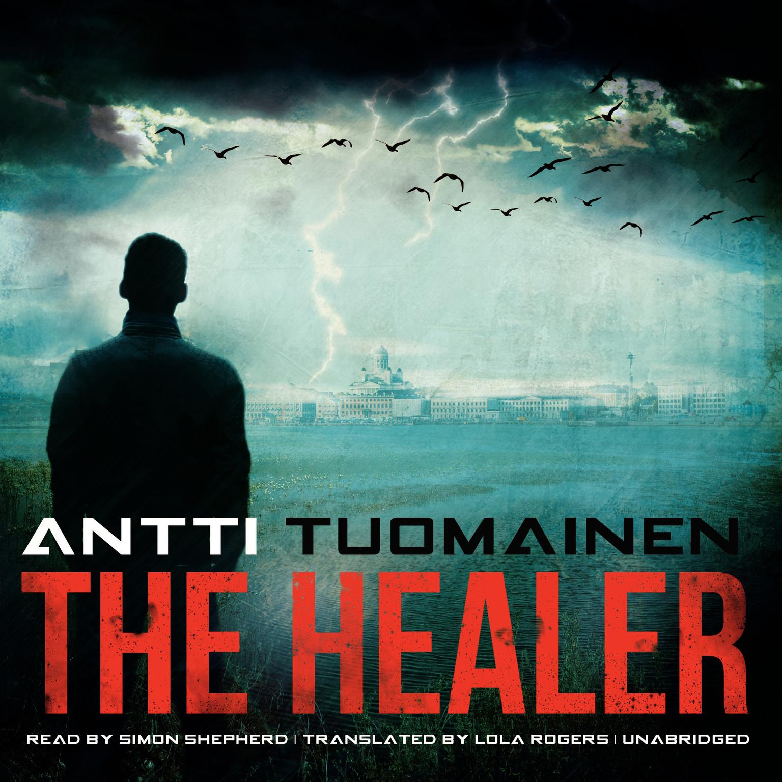 Printable The Healer Audiobook Cover Art