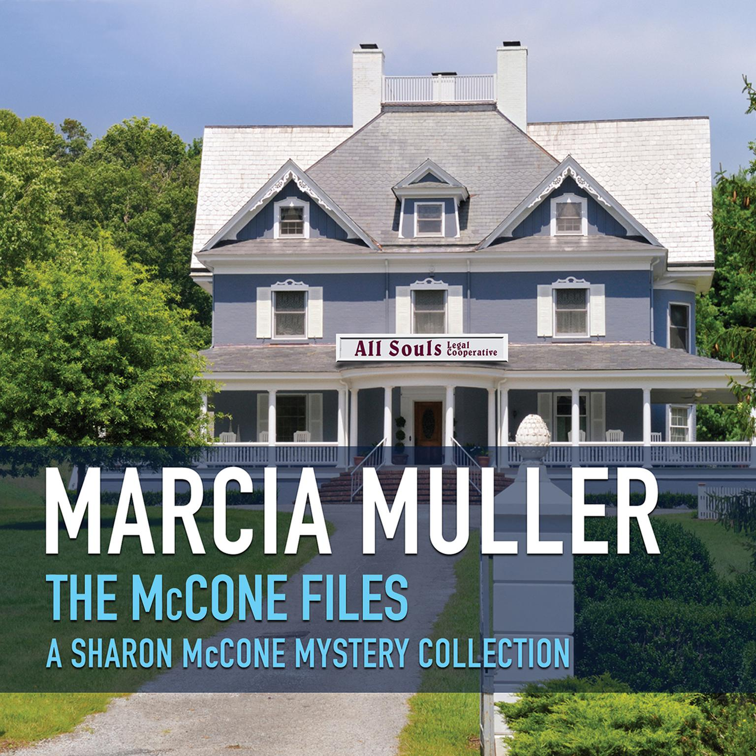 Printable The McCone Files Audiobook Cover Art