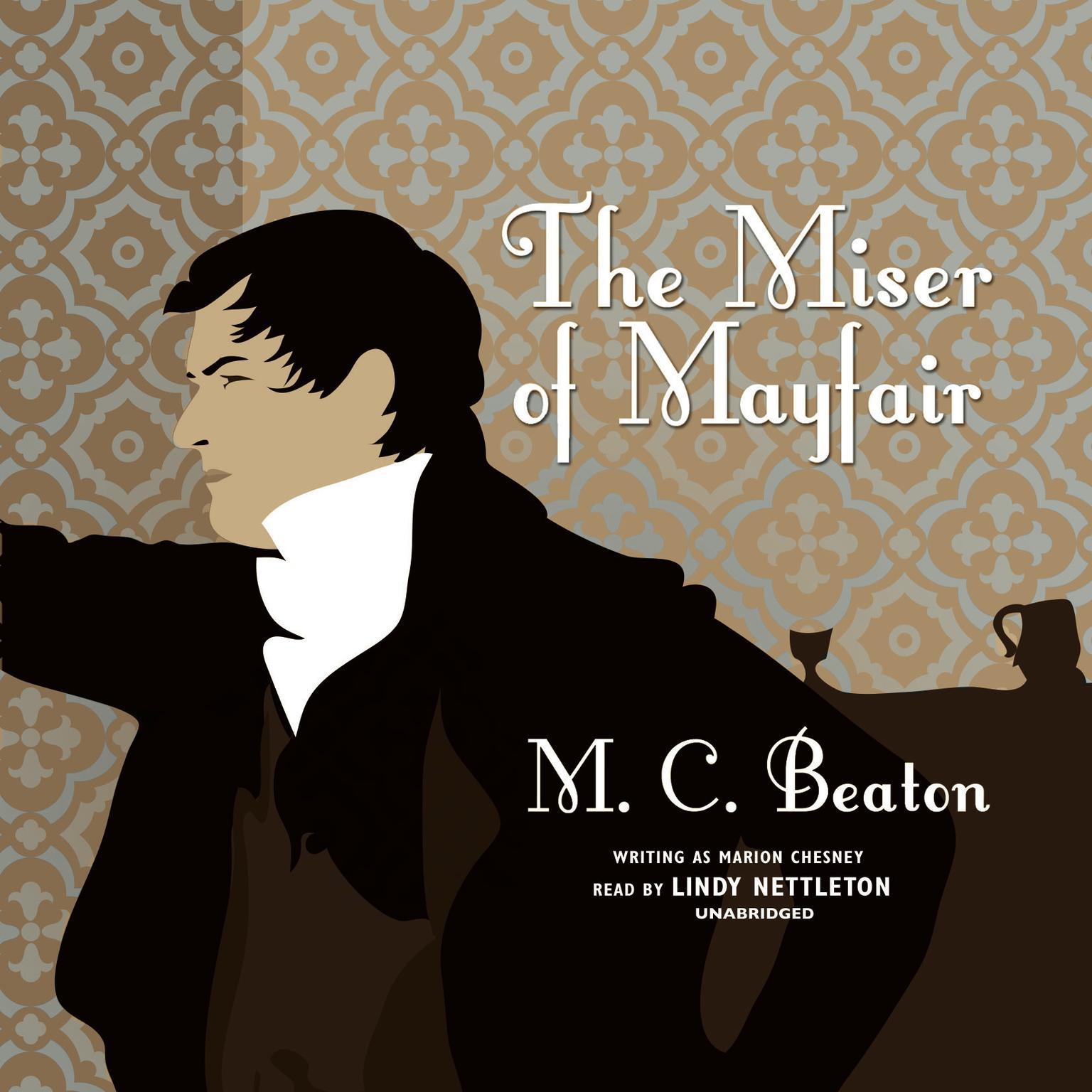 Printable The Miser of Mayfair Audiobook Cover Art