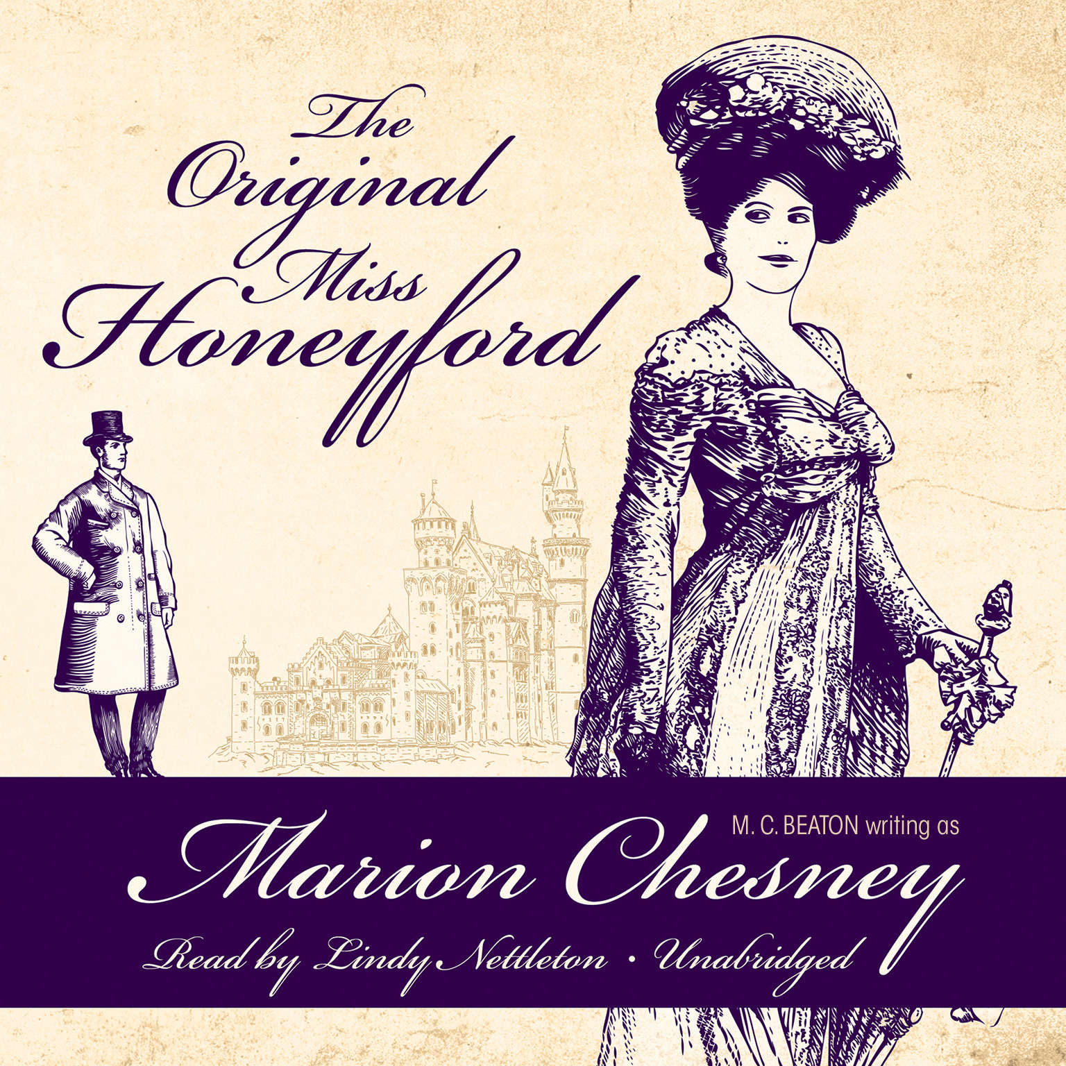 Printable The Original Miss Honeyford Audiobook Cover Art