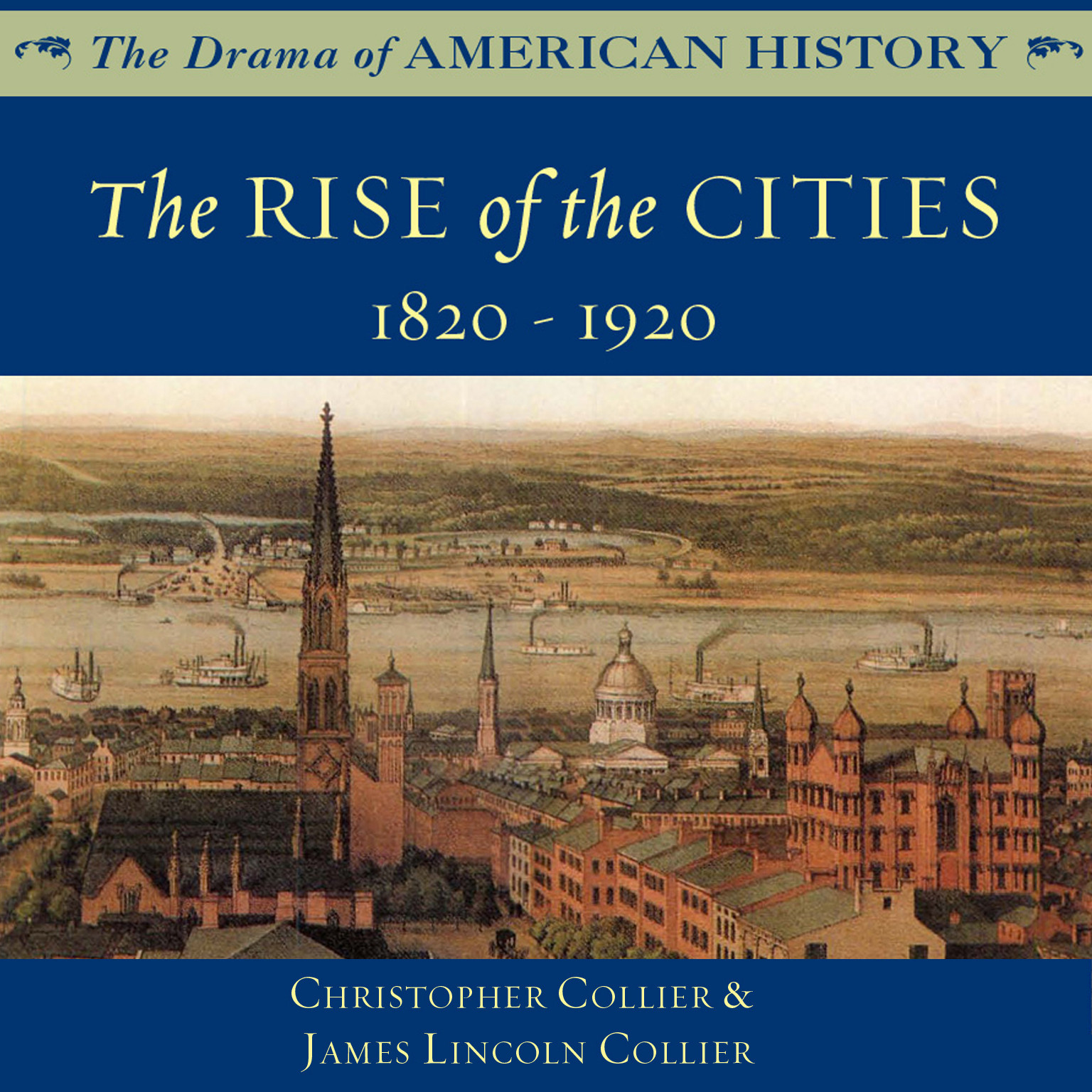 Printable The Rise of the Cities Audiobook Cover Art