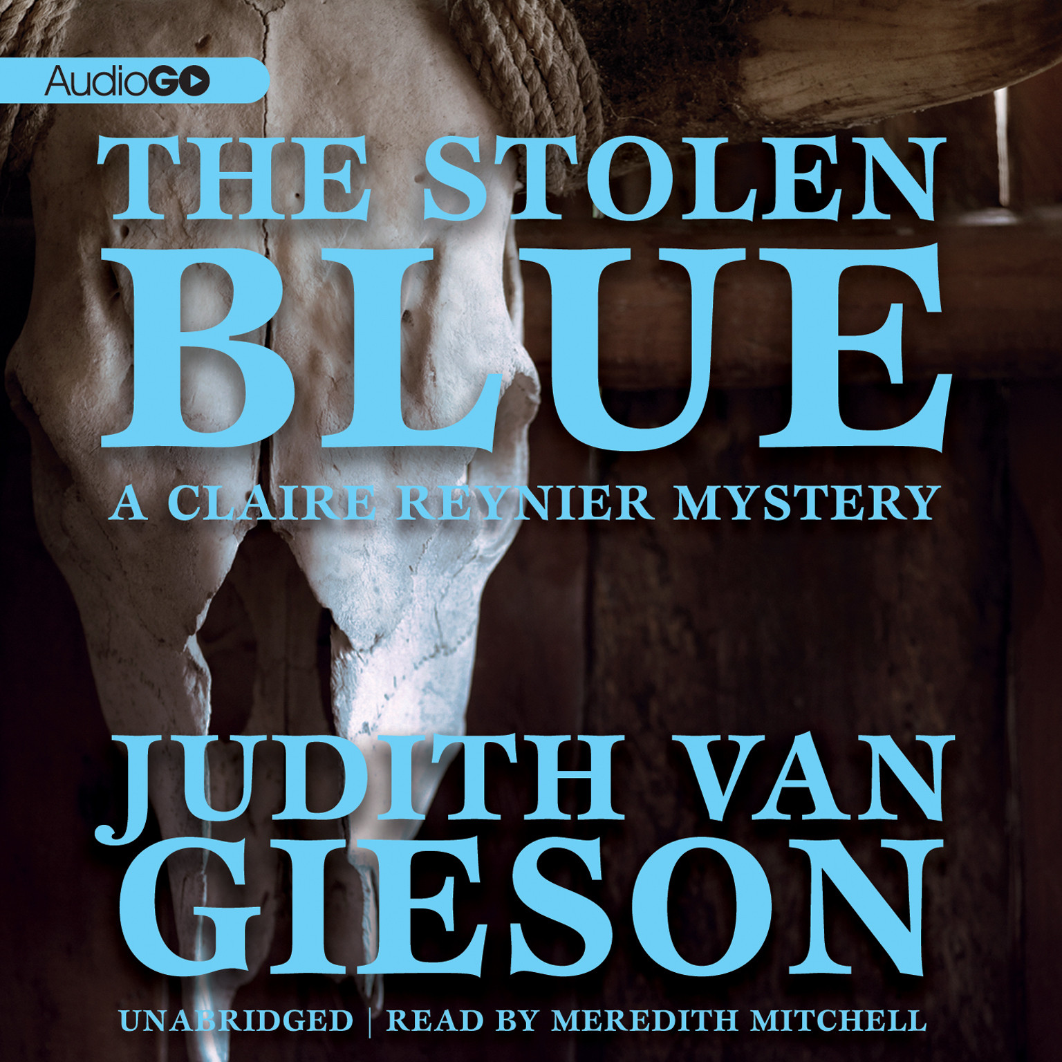 Printable The Stolen Blue Audiobook Cover Art