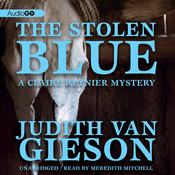 The Stolen Blue Audiobook, by Judith Van Gieson