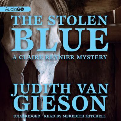 The Stolen Blue Audiobook, by Judith Van Gieson