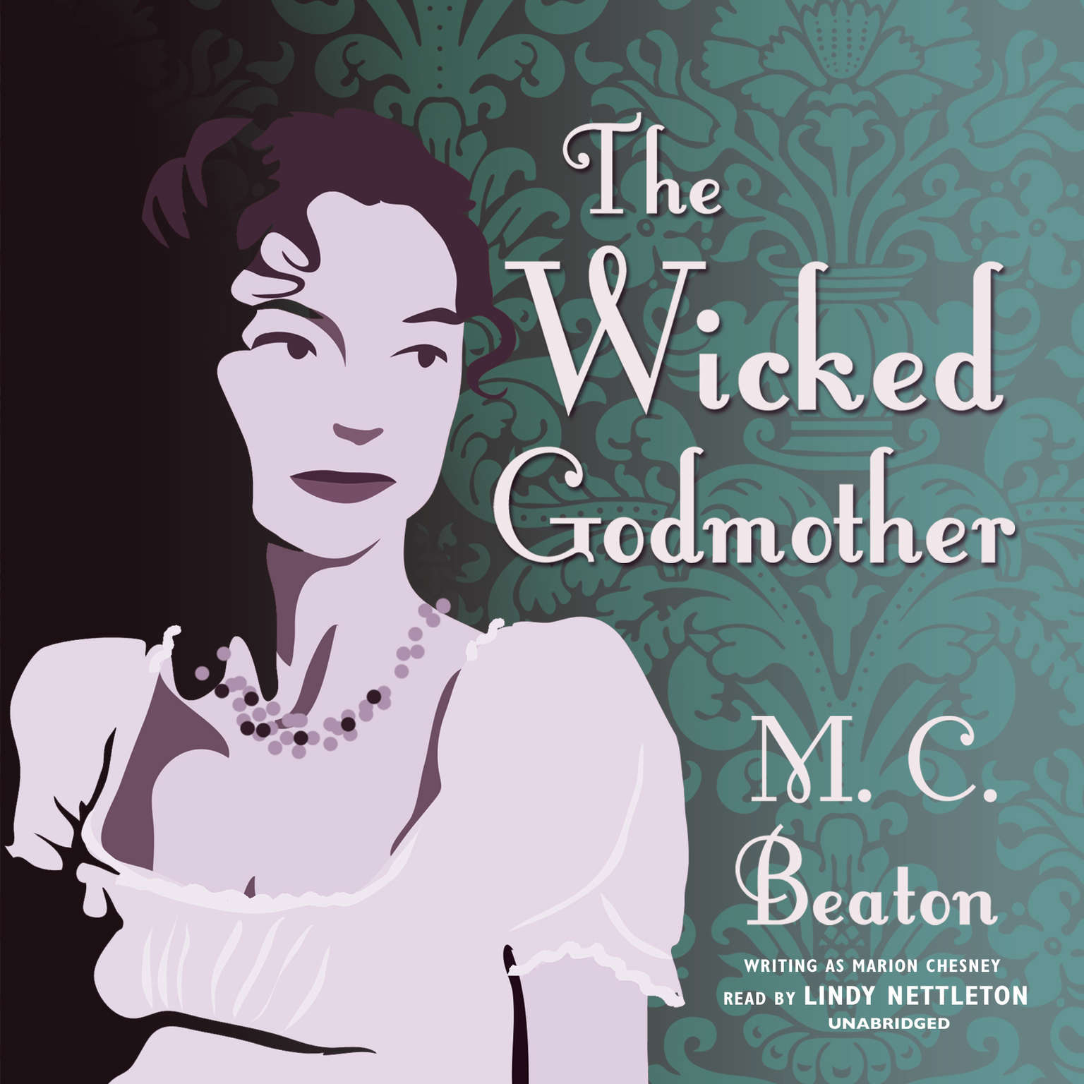 Printable The Wicked Godmother Audiobook Cover Art