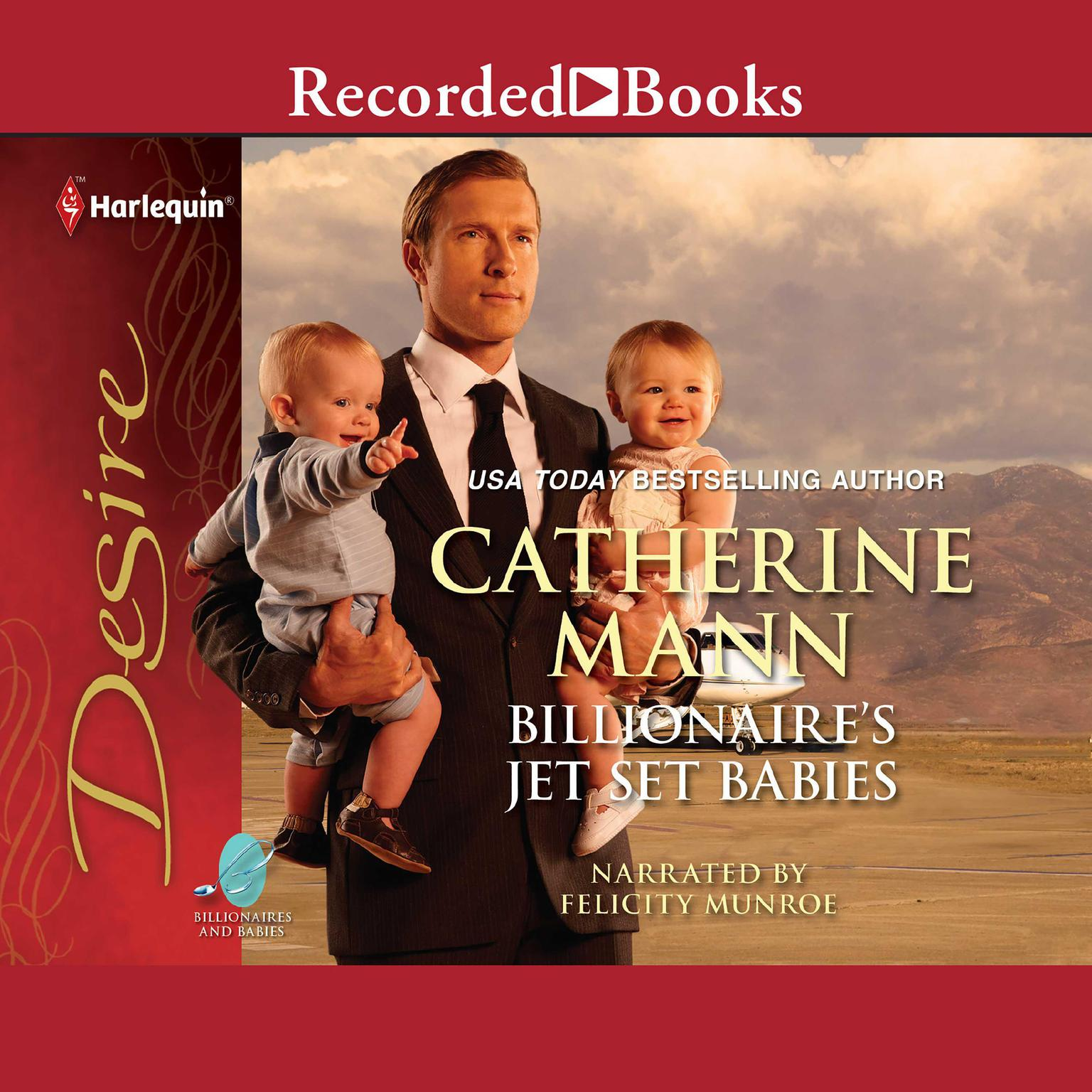Printable Billionaire's Jet-set Babies Audiobook Cover Art