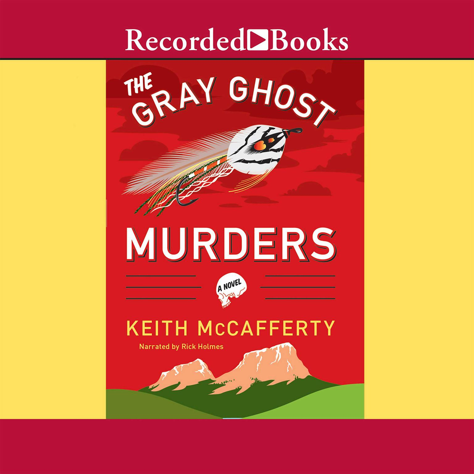Printable The Gray Ghost Murders Audiobook Cover Art