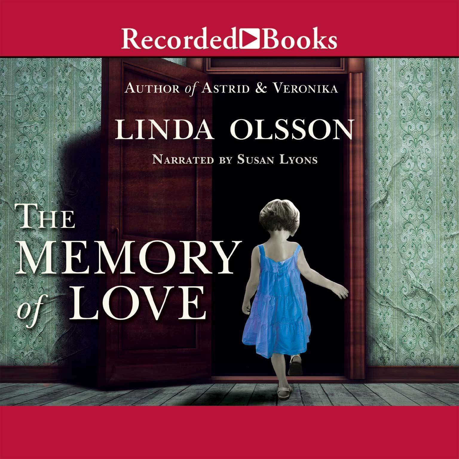 Printable The Memory of Love Audiobook Cover Art