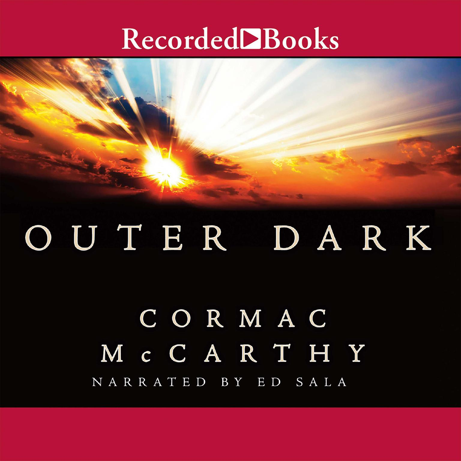 Printable Outer Dark Audiobook Cover Art