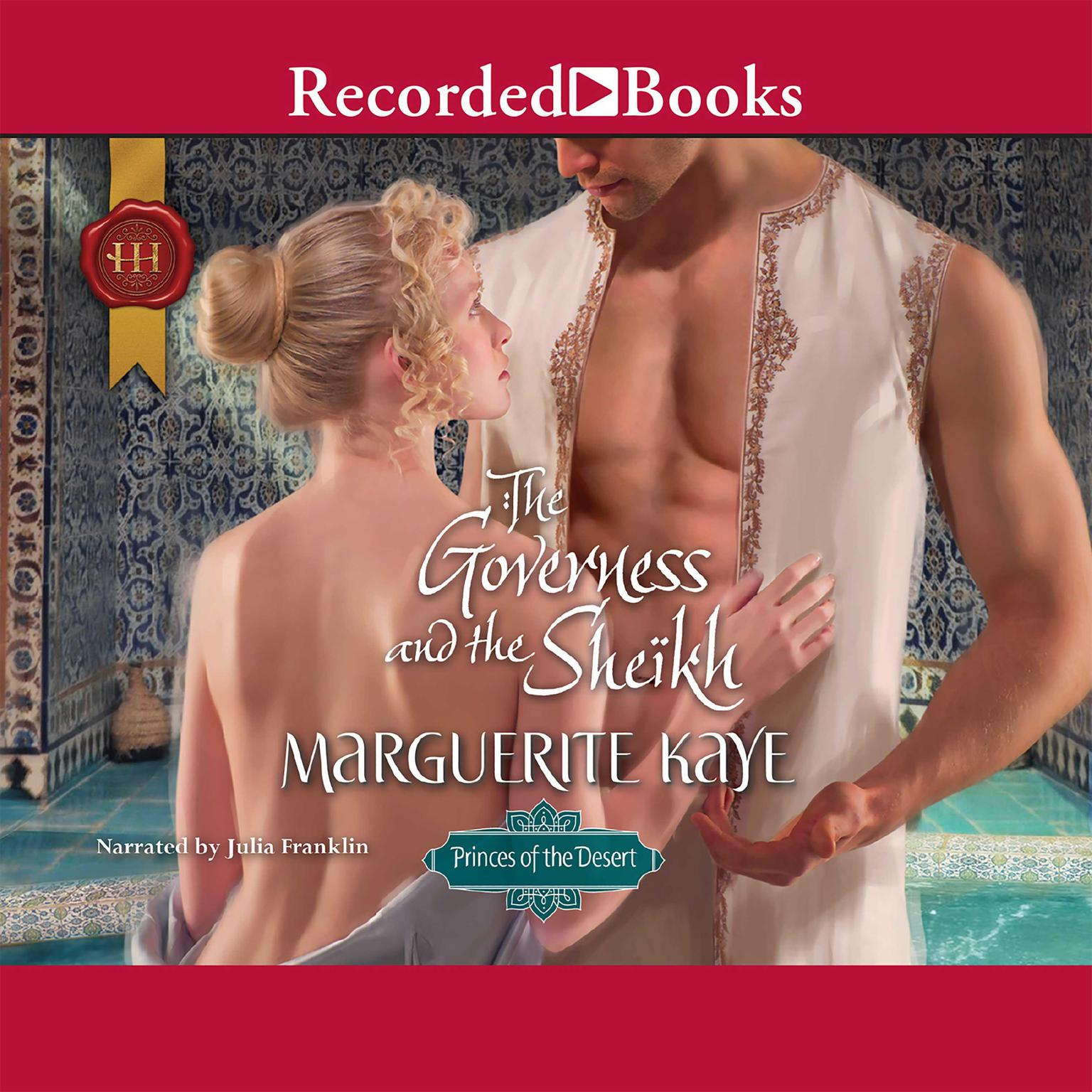 Printable The Governess and the Sheikh Audiobook Cover Art