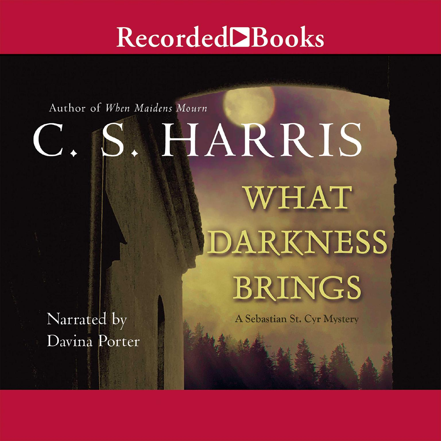 Printable What Darkness Brings Audiobook Cover Art