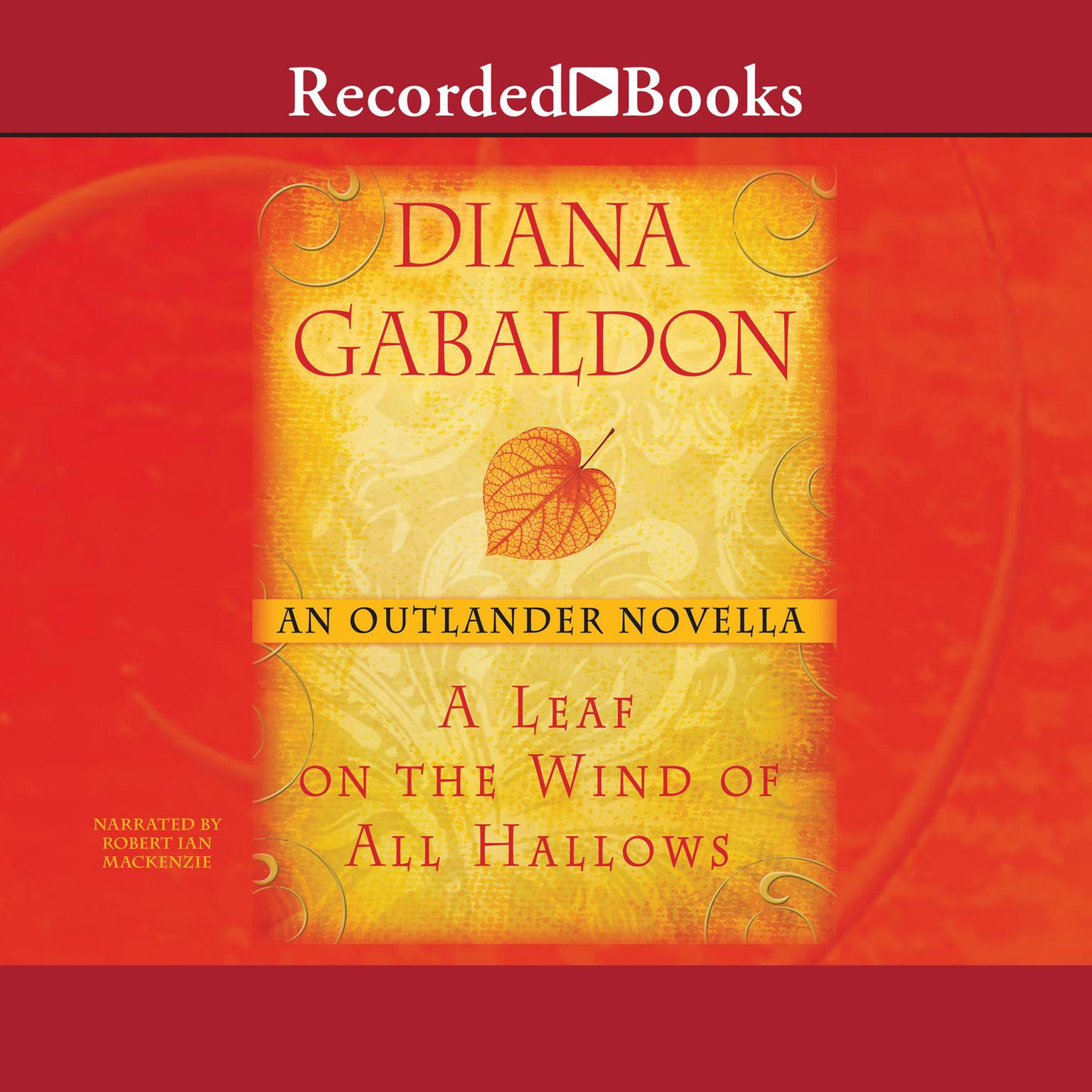 Printable A Leaf on the Wind of All Hallows: An Outlander Novella Audiobook Cover Art
