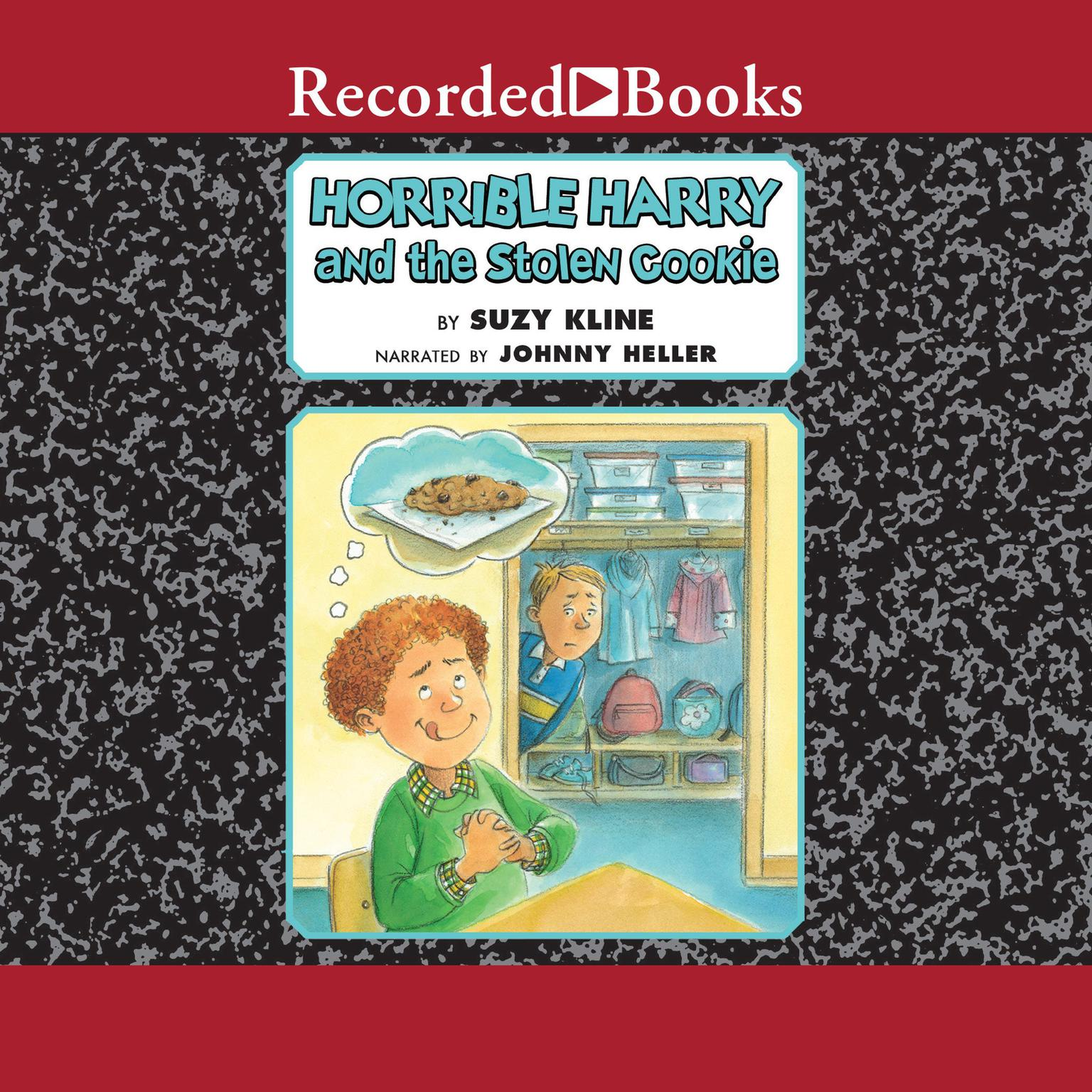 Printable Horrible Harry and the Stolen Cookie Audiobook Cover Art