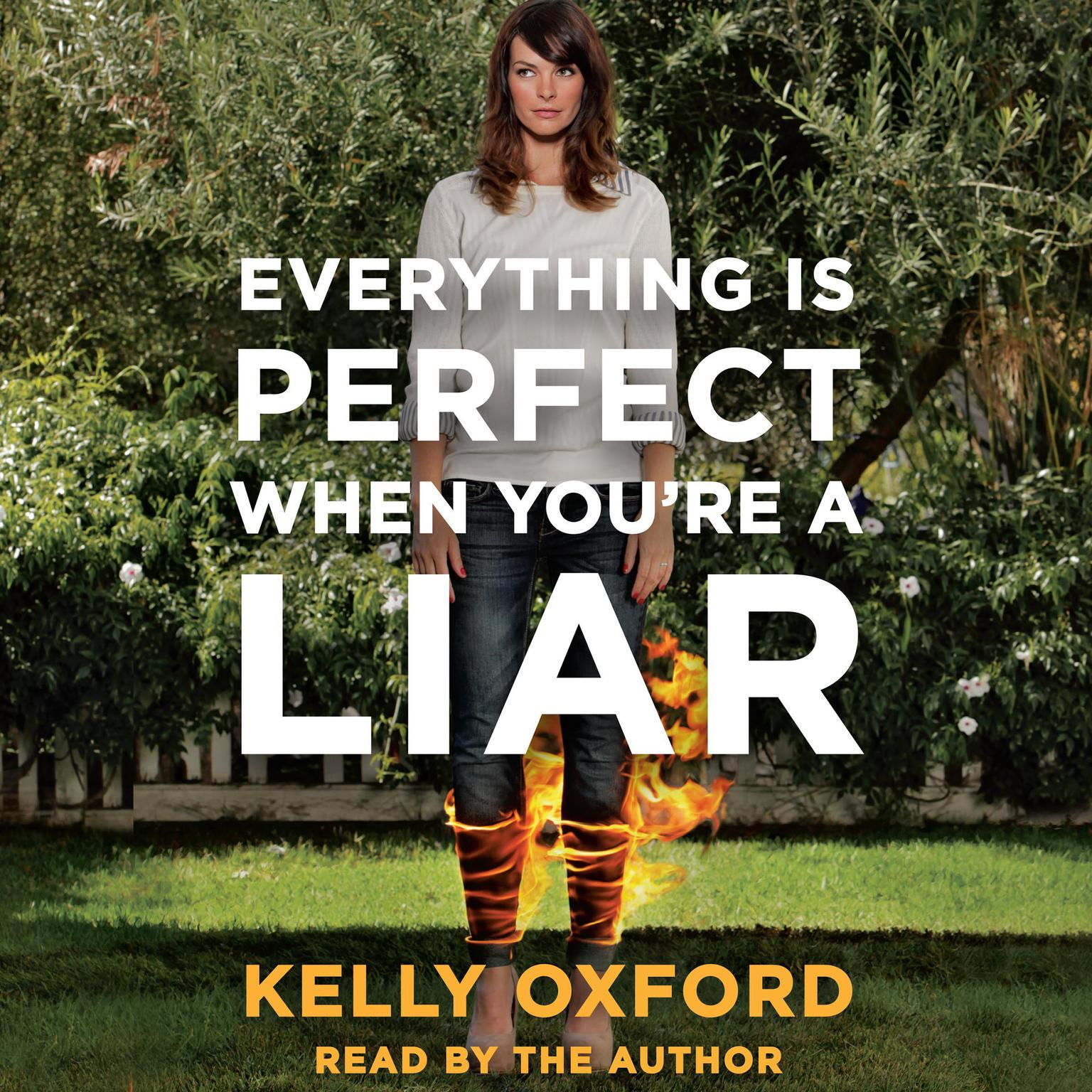 Printable Everything Is Perfect When You're a Liar Audiobook Cover Art