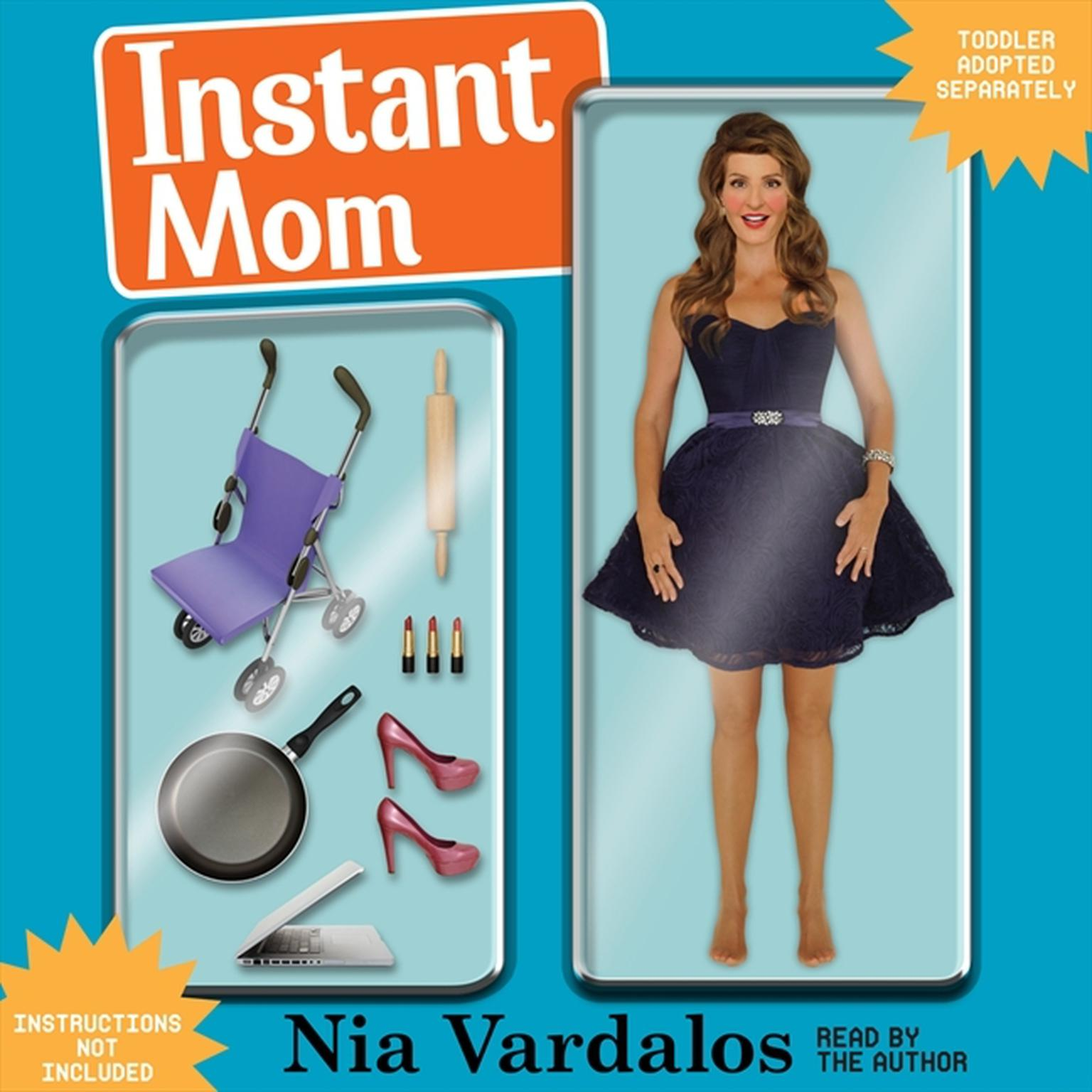 Printable Instant Mom Audiobook Cover Art
