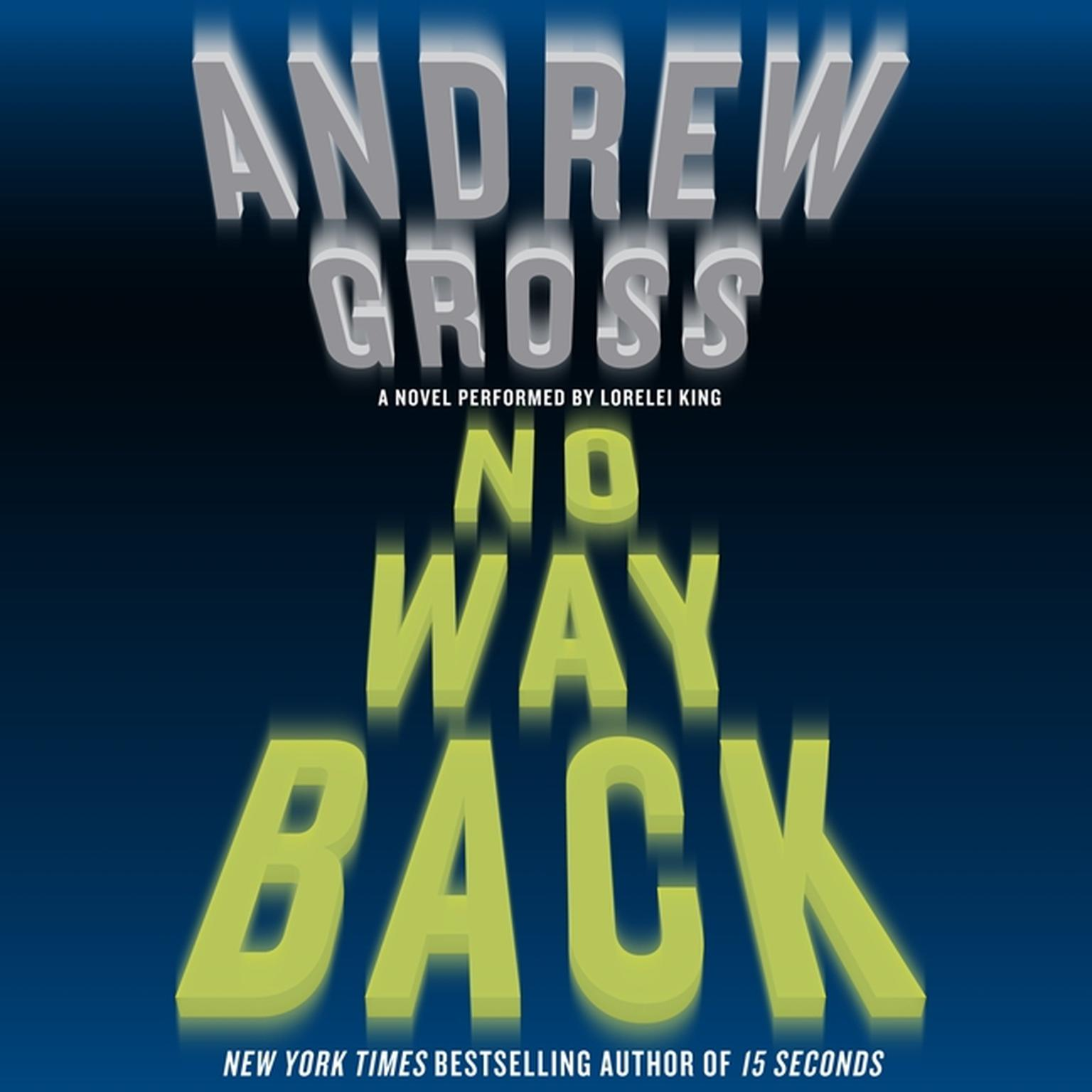 Printable No Way Back: A Novel Audiobook Cover Art