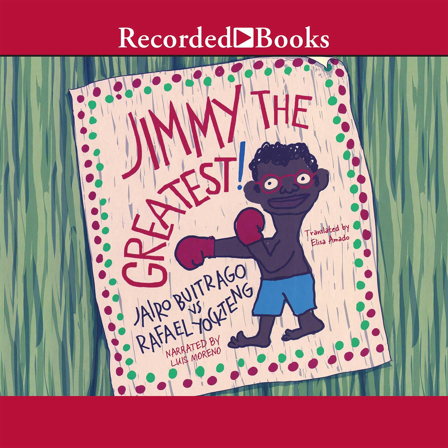 Printable Jimmy the Greatest Audiobook Cover Art