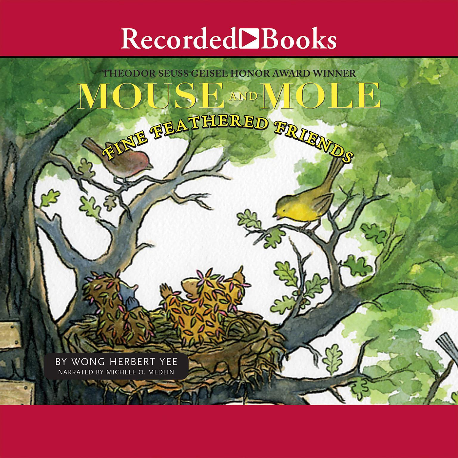 Printable Mouse and Mole: Fine Feathered Friends Audiobook Cover Art