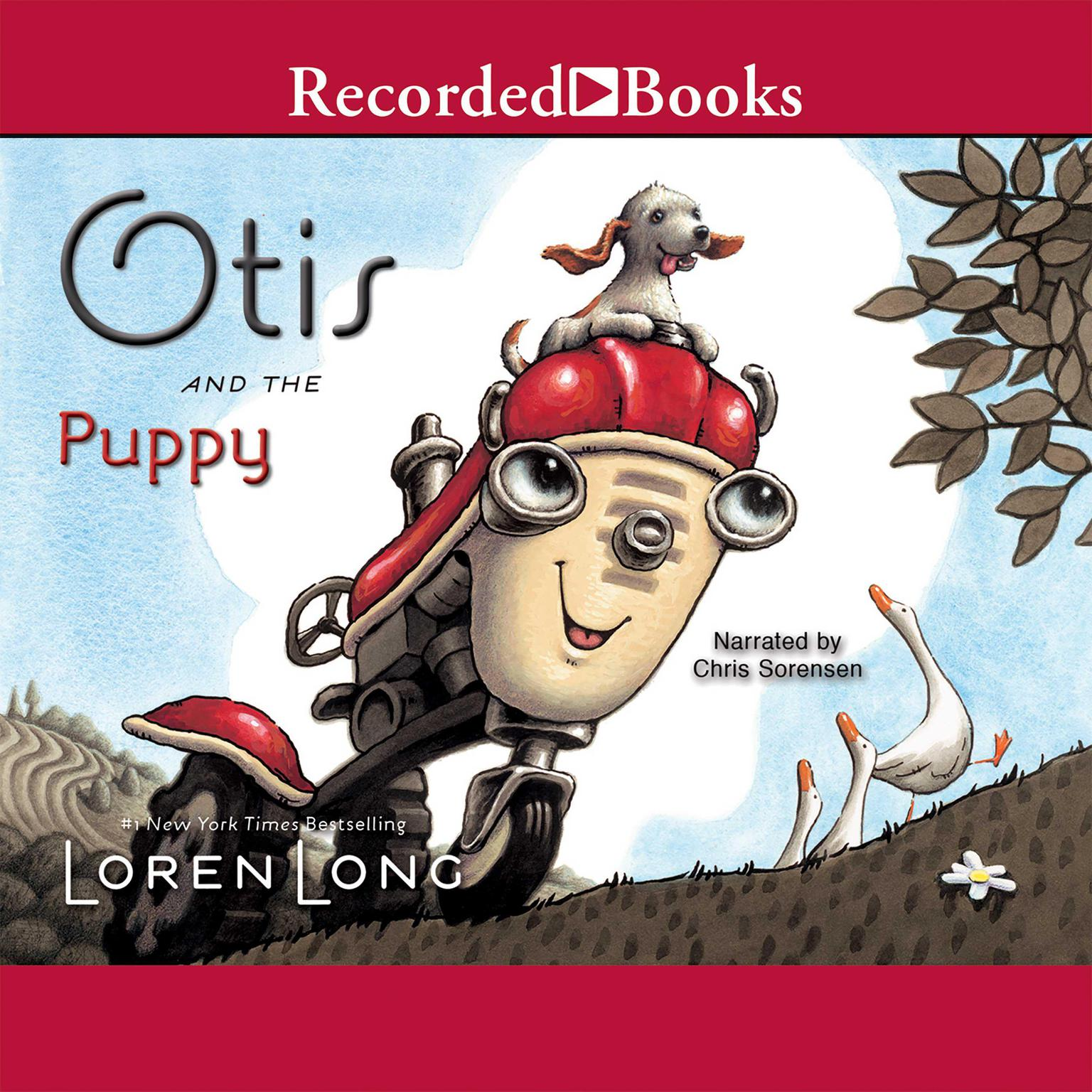 Printable Otis and the Puppy Audiobook Cover Art