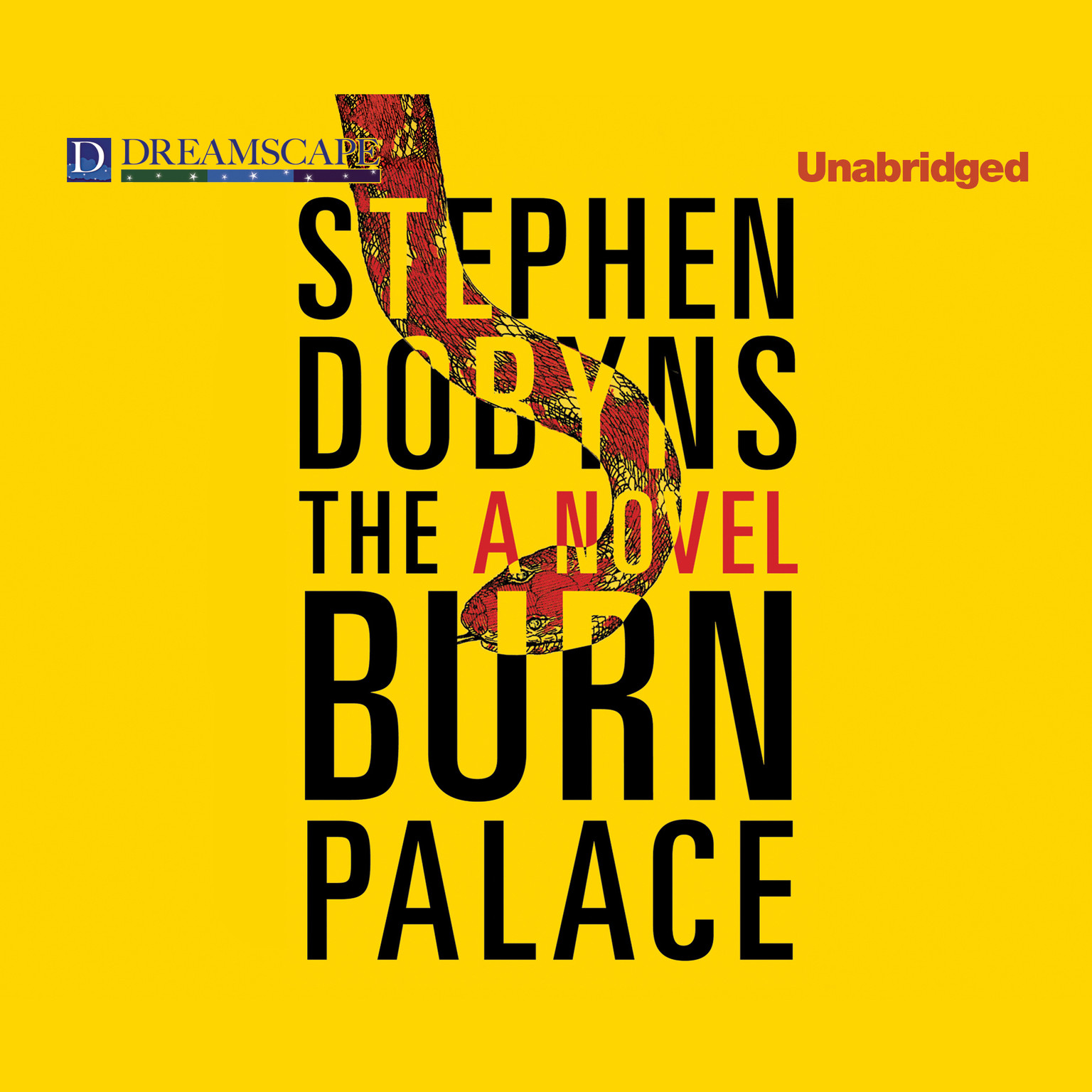 Printable The Burn Palace Audiobook Cover Art