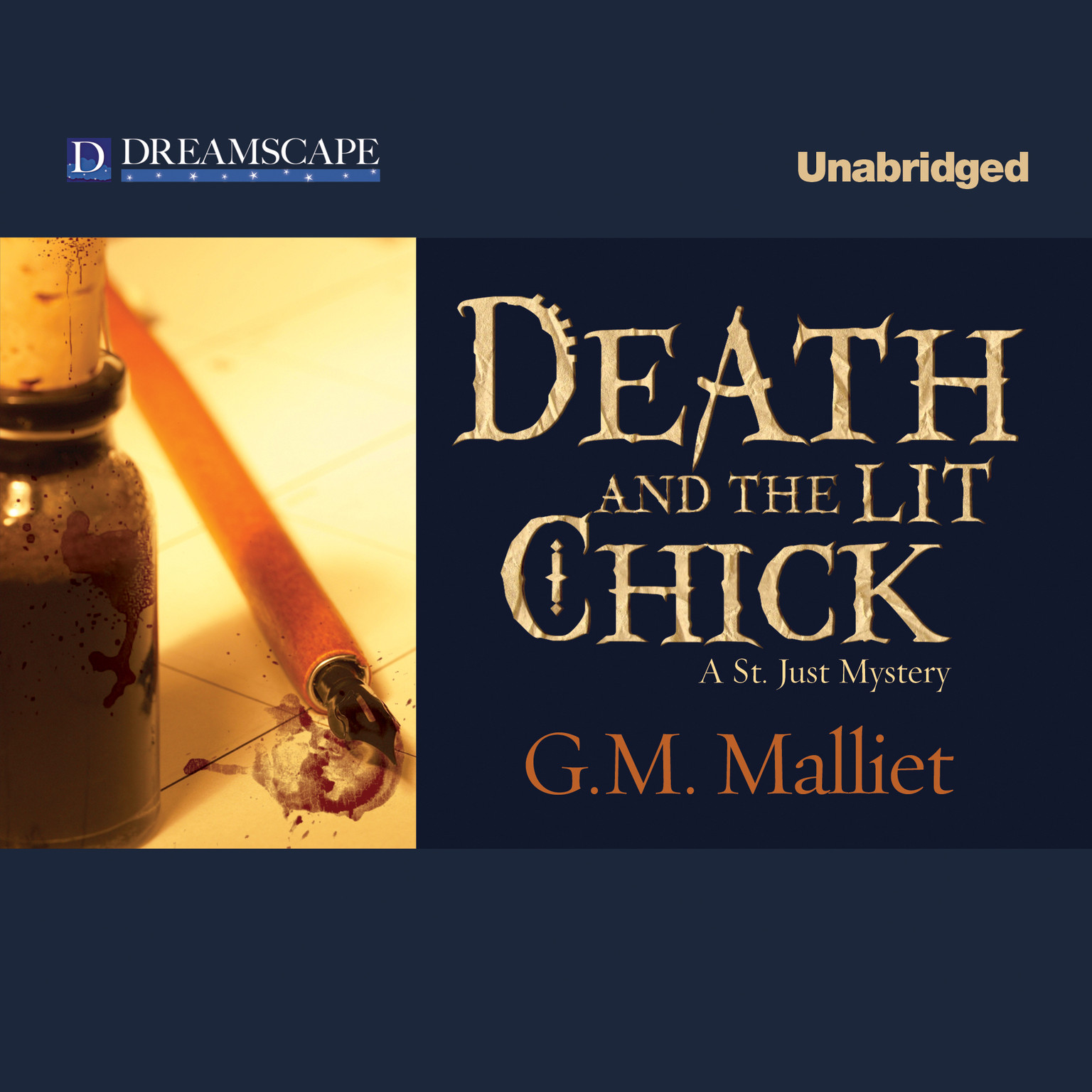 Printable Death and the Lit Chick Audiobook Cover Art