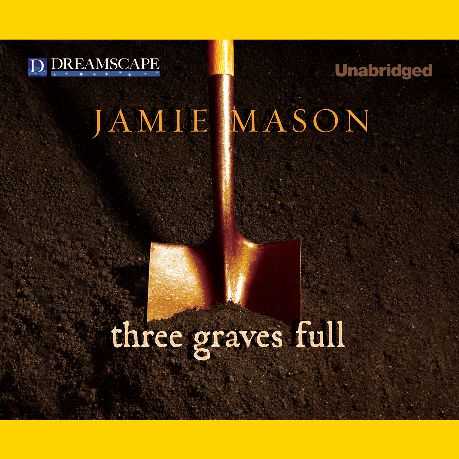 Printable Three Graves Full Audiobook Cover Art