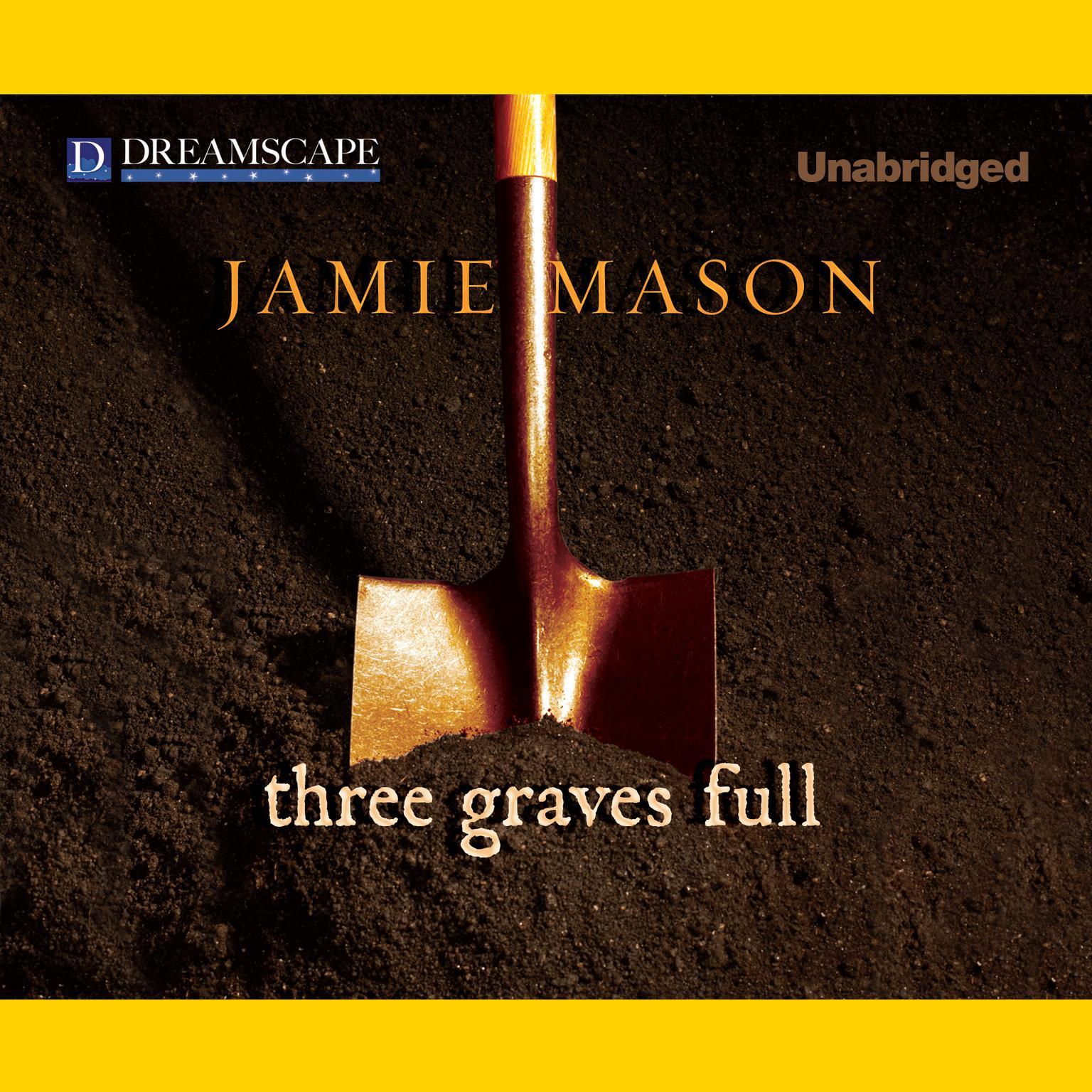 Printable Three Graves Full Audiobook Cover Art