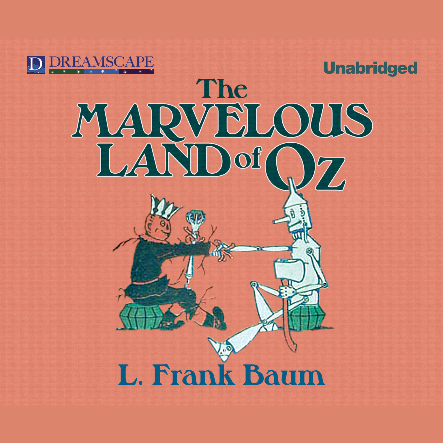 Printable The Marvelous Land of Oz Audiobook Cover Art