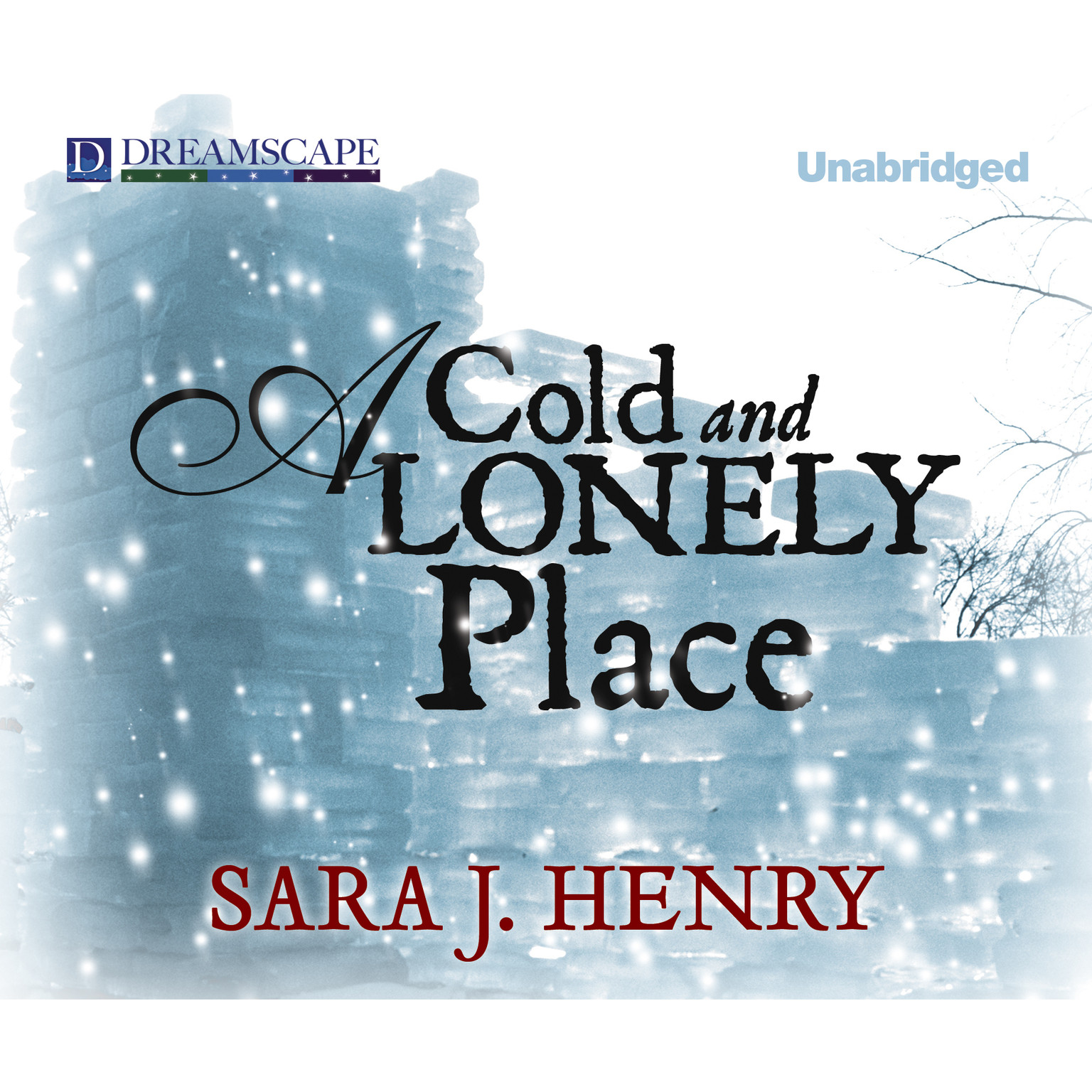 Printable A Cold and Lonely Place Audiobook Cover Art