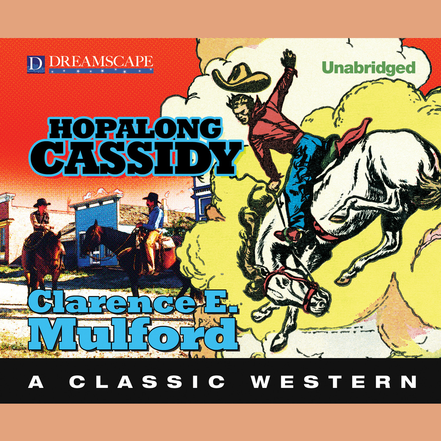 Printable Hopalong Cassidy Audiobook Cover Art