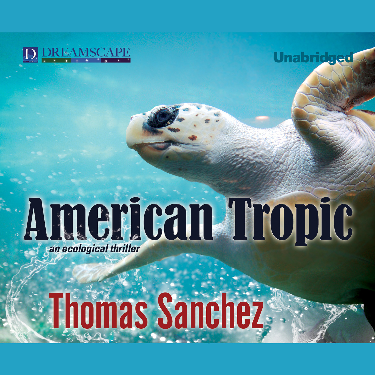 Printable American Tropic Audiobook Cover Art