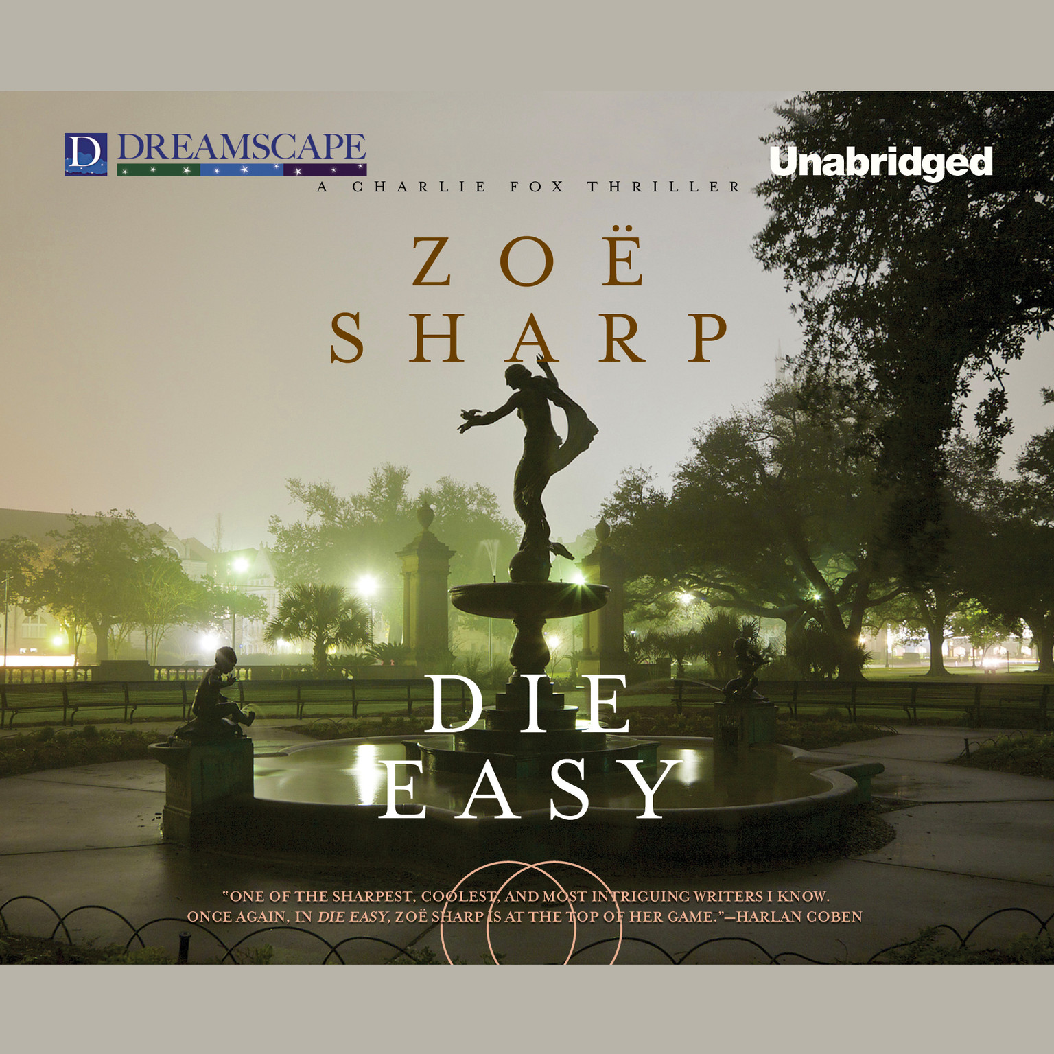 Printable Die Easy Audiobook Cover Art
