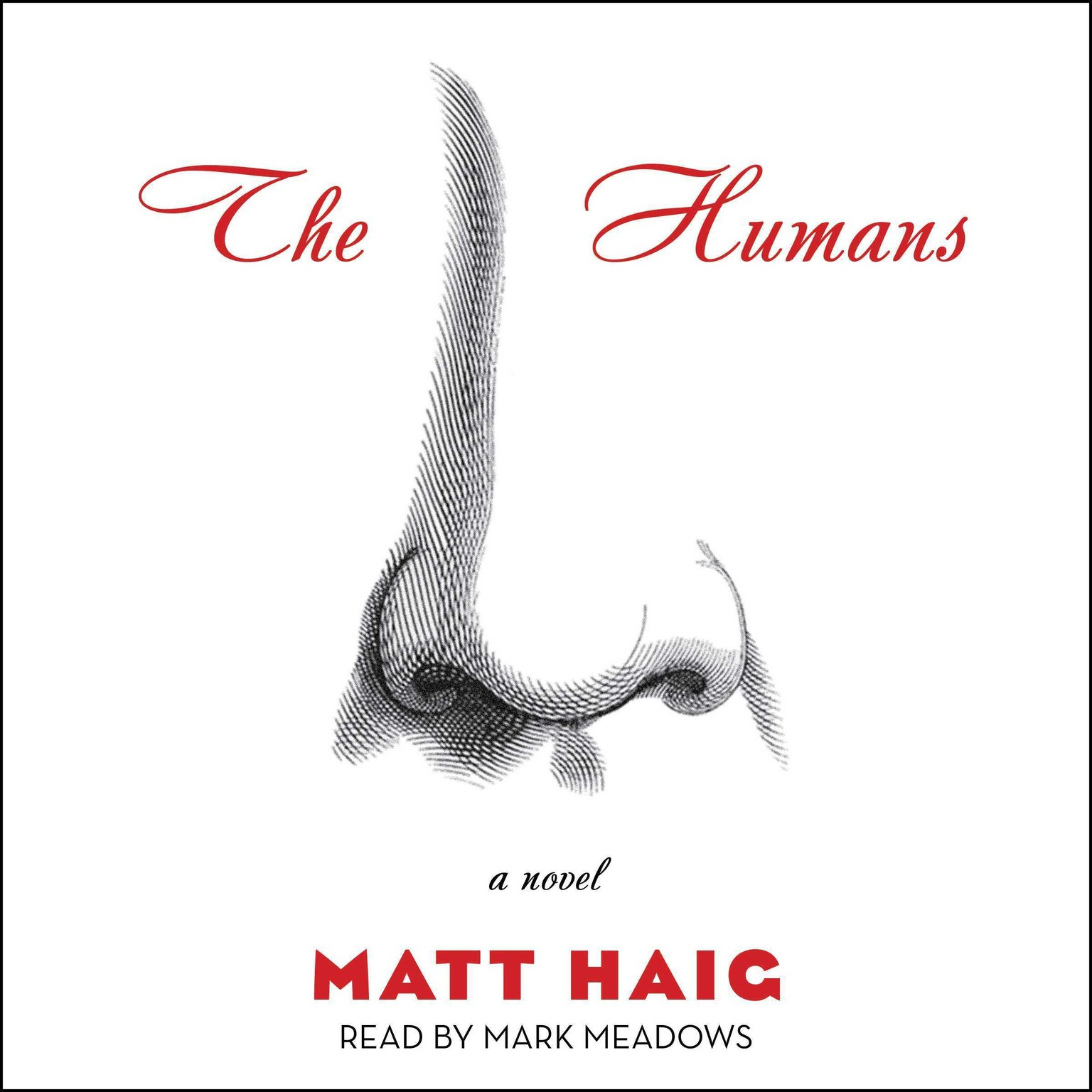 Printable The Humans: A Novel Audiobook Cover Art