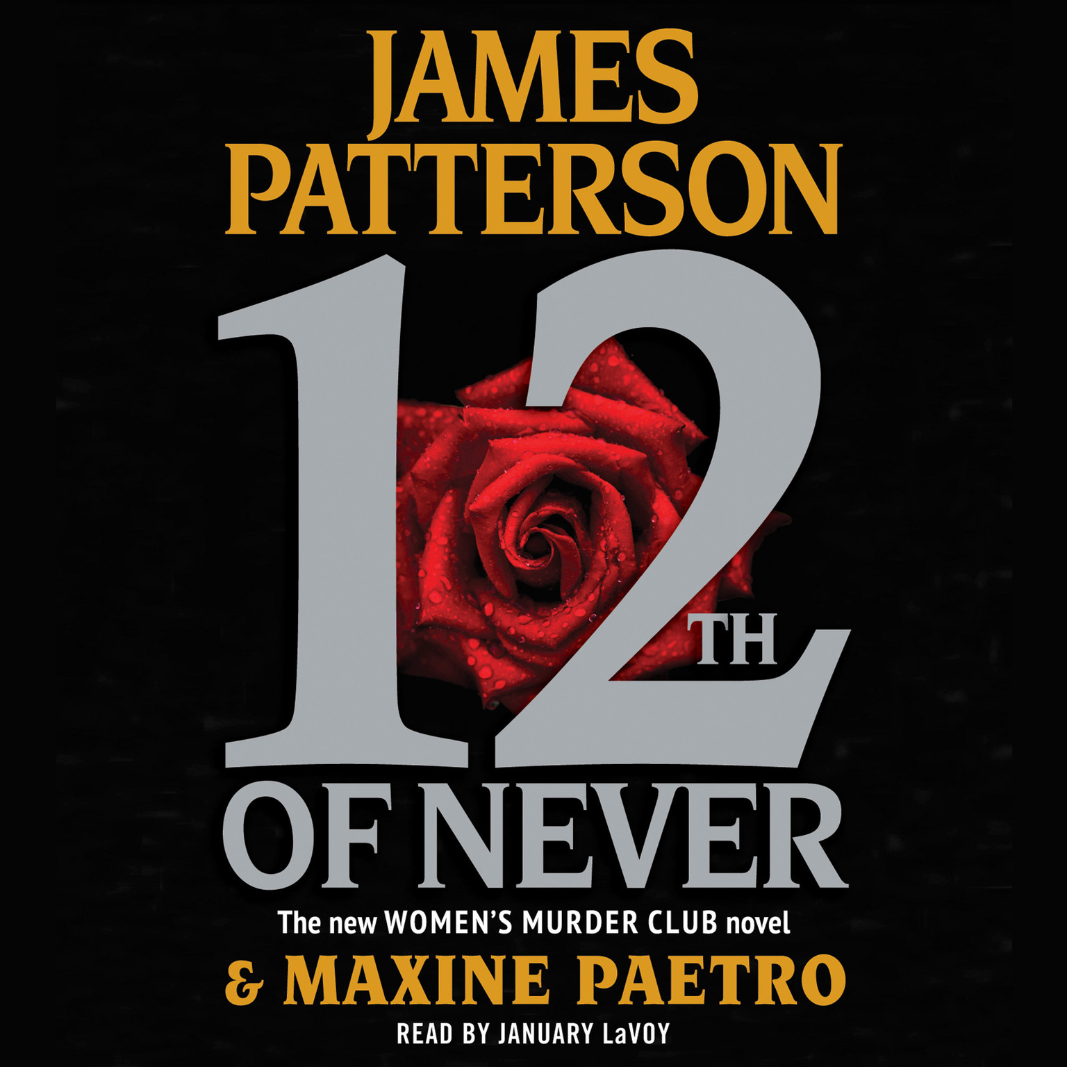 Printable 12th of Never Audiobook Cover Art