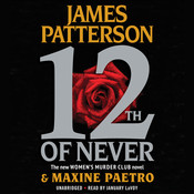 12th of Never Audiobook, by James Patterson