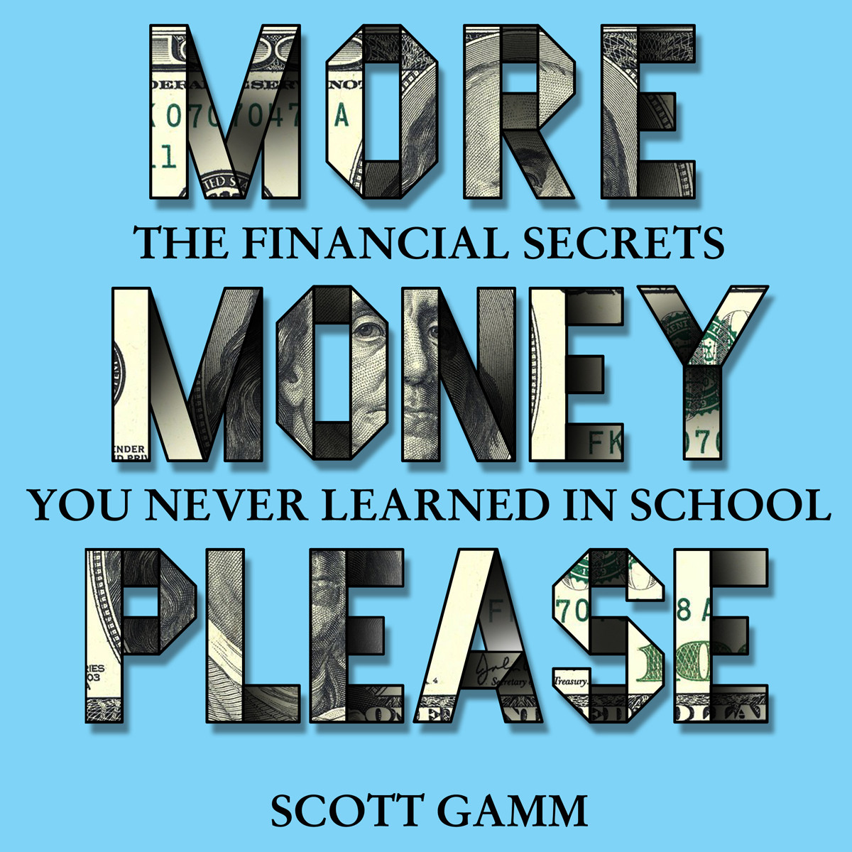 Printable More Money, Please: The Financial Secrets You Never Learned in School Audiobook Cover Art