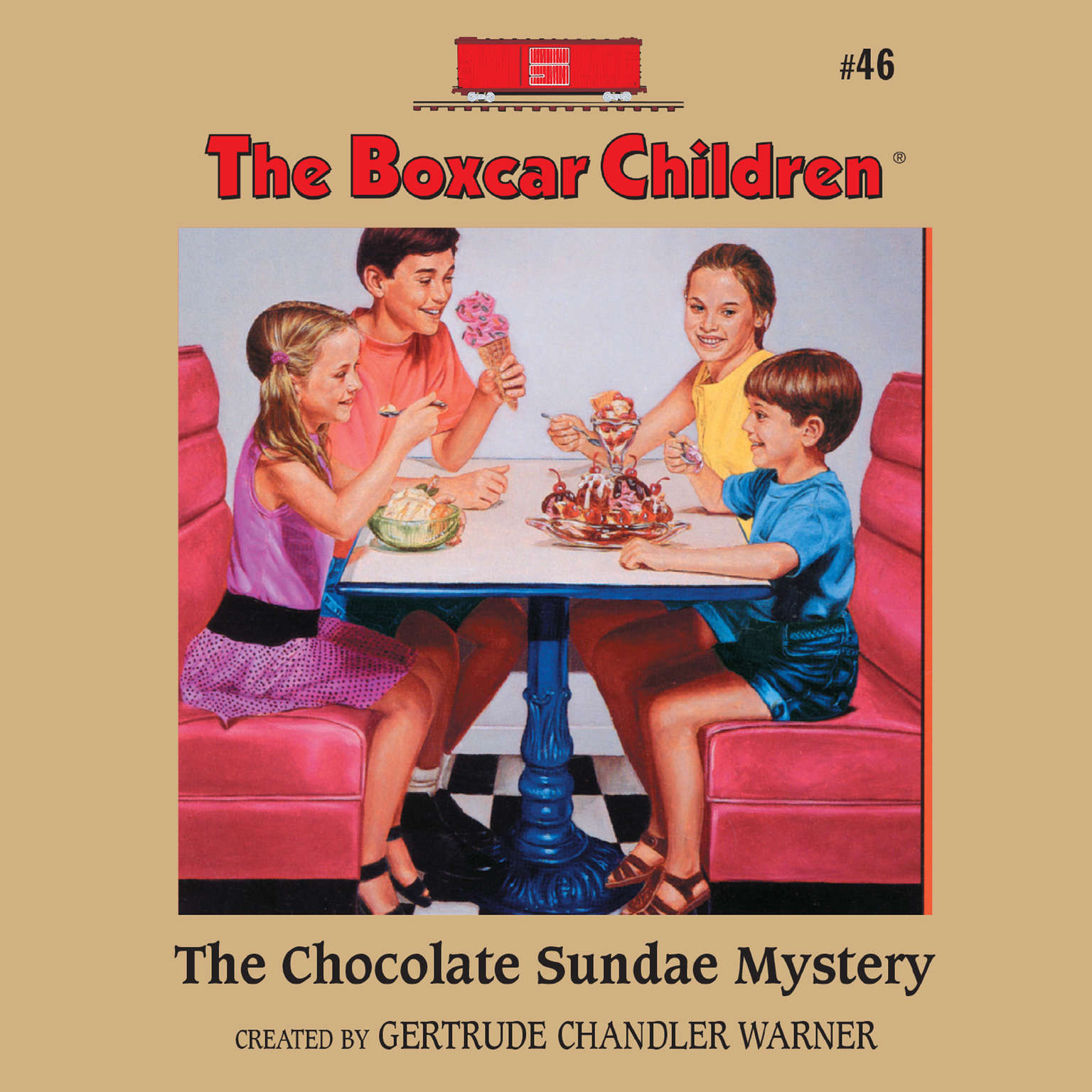 Printable The Chocolate Sundae Mystery Audiobook Cover Art
