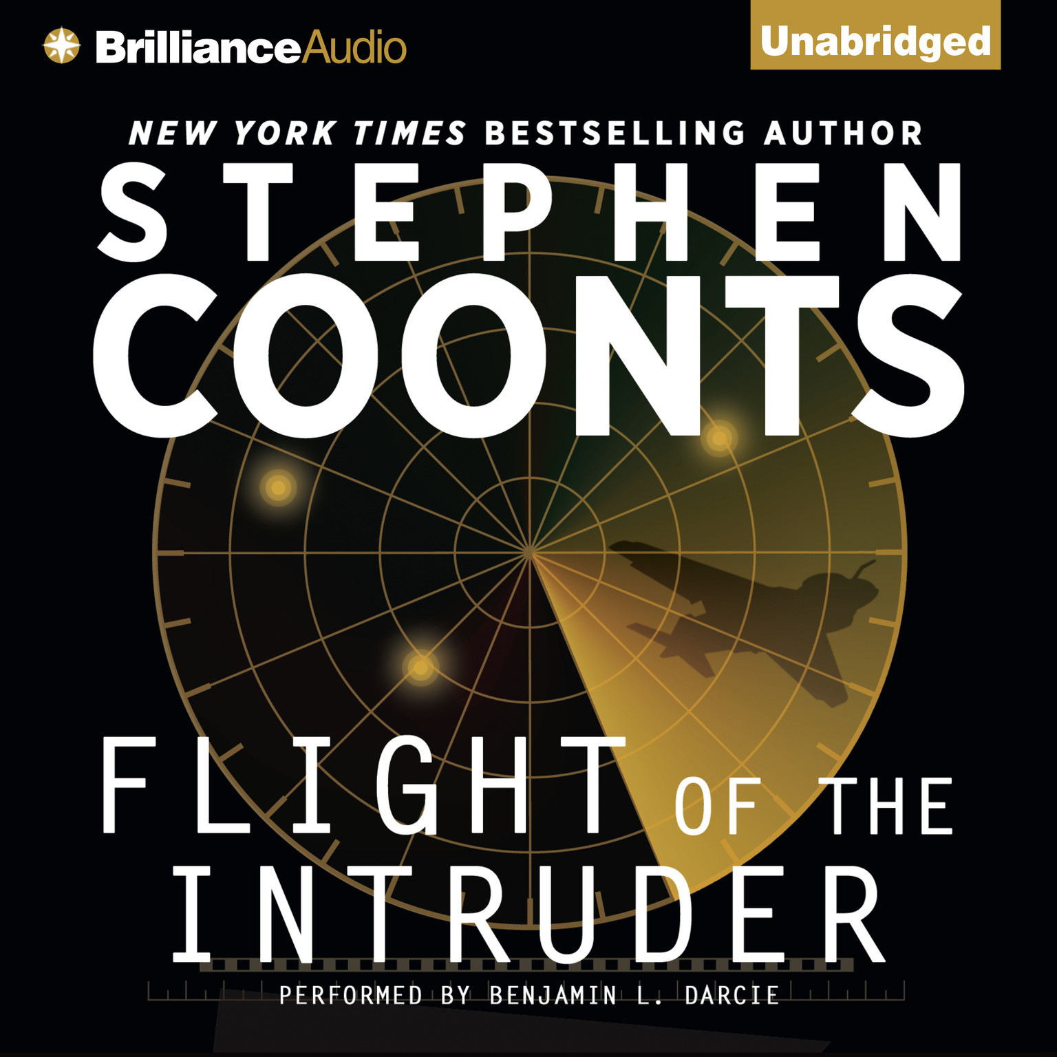 Printable Flight of the Intruder Audiobook Cover Art