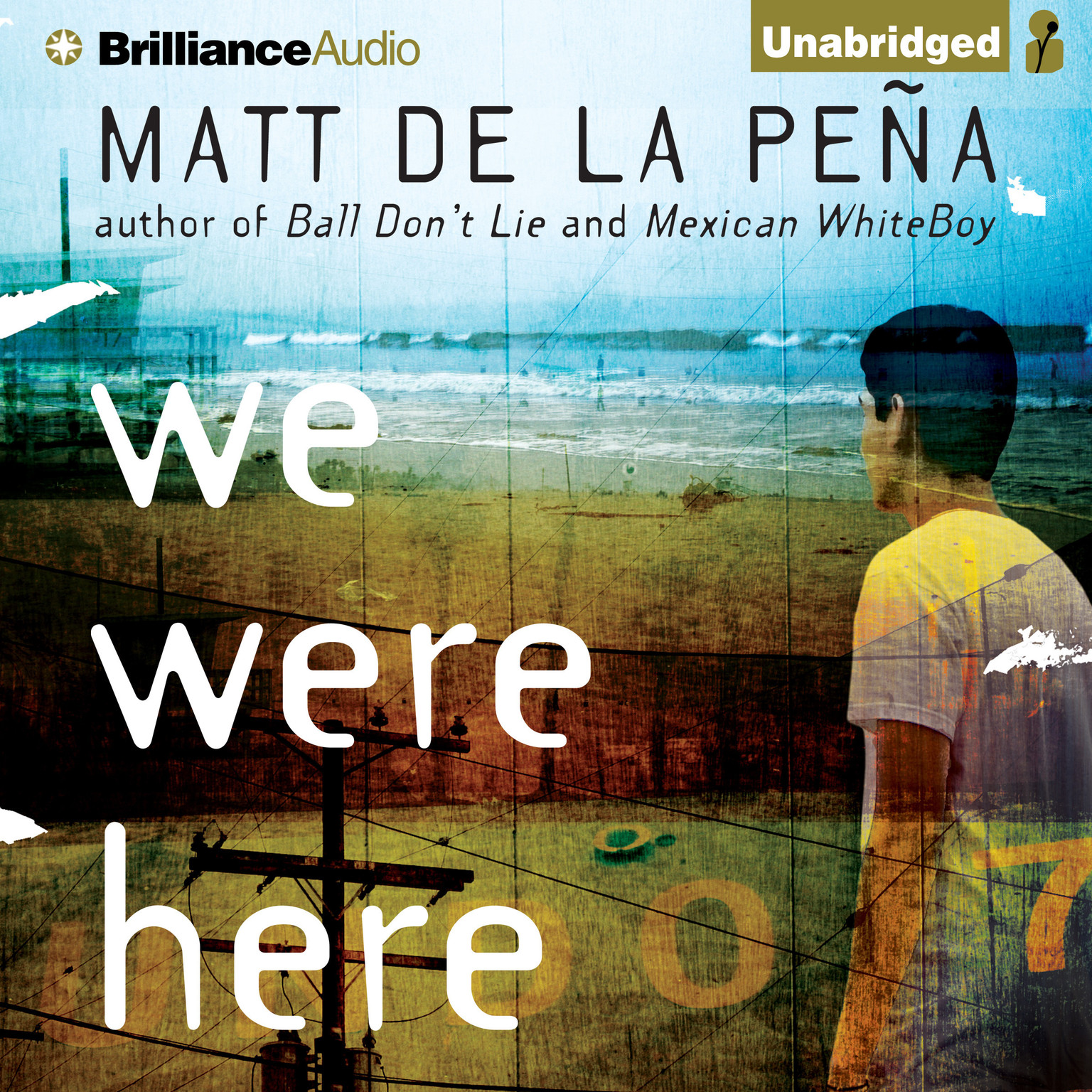 Printable We Were Here Audiobook Cover Art
