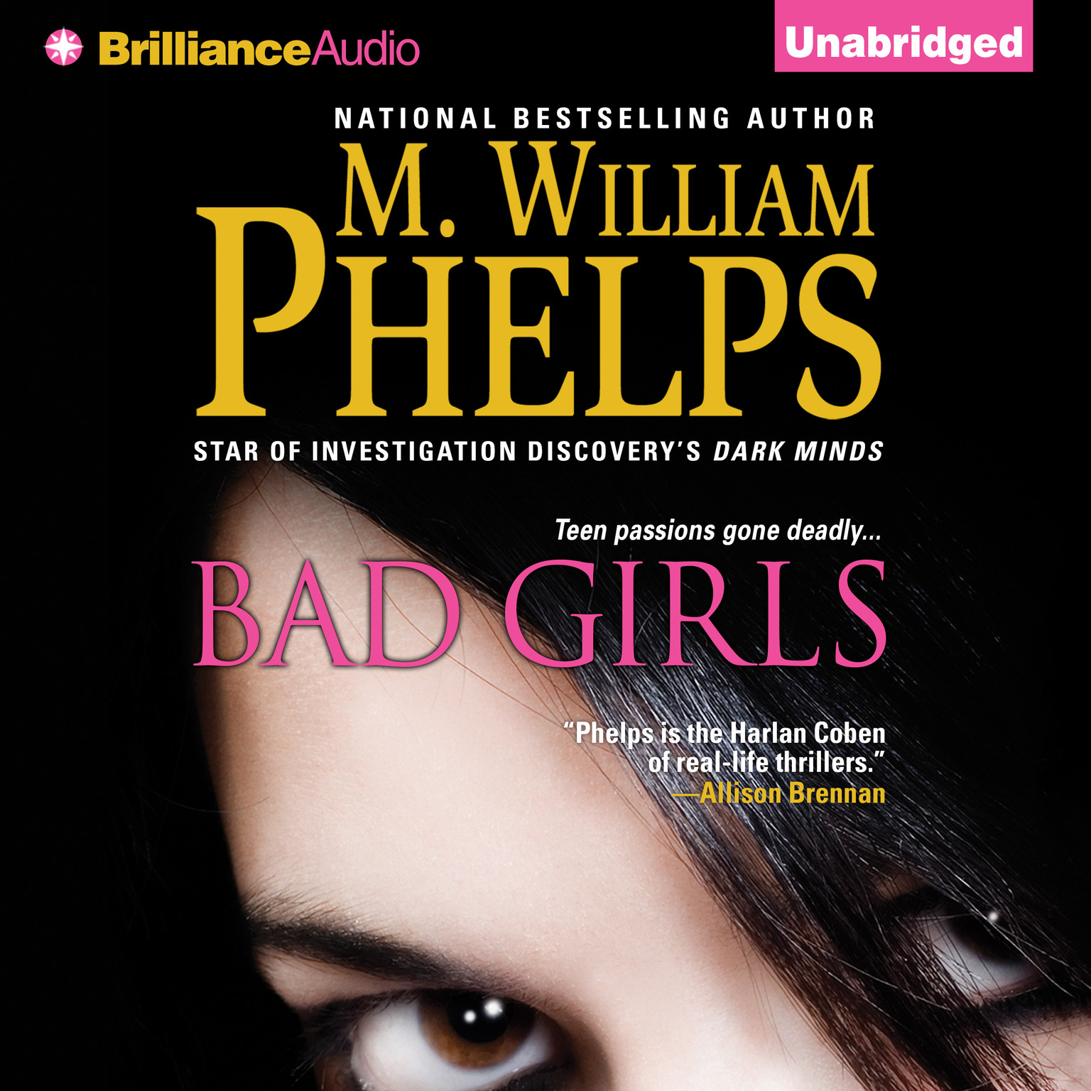 Printable Bad Girls Audiobook Cover Art
