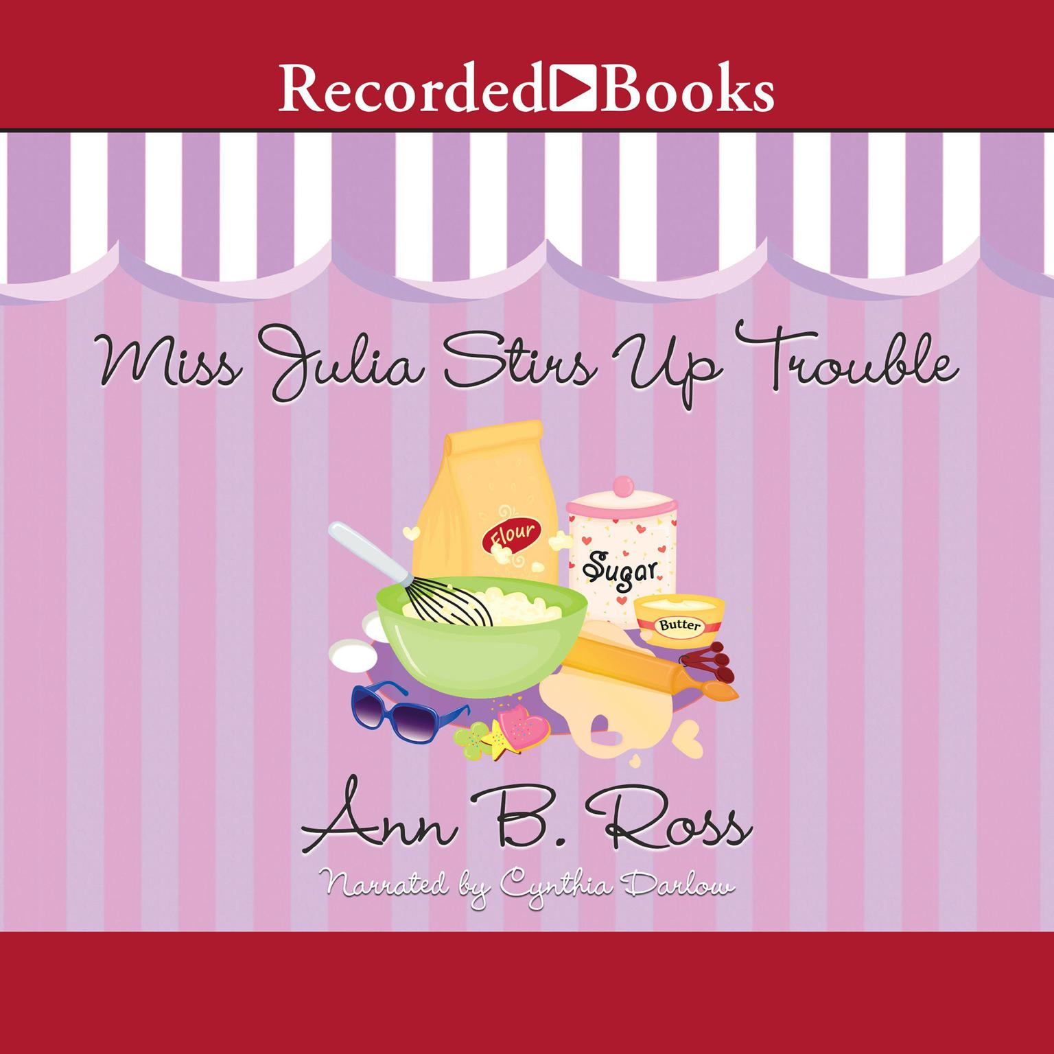 Printable Miss Julia Stirs Up Trouble Audiobook Cover Art