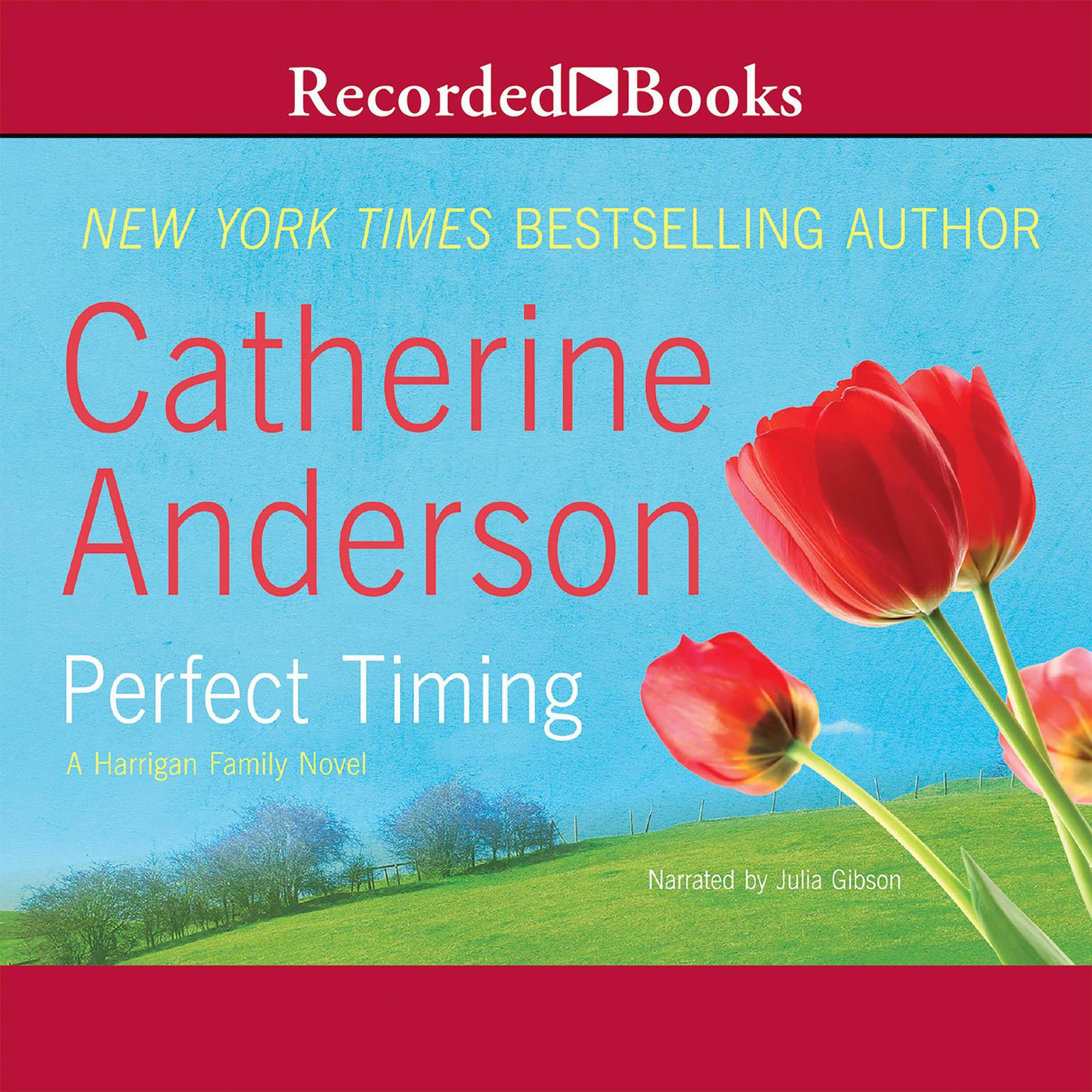 Printable Perfect Timing: A Harrigan Family Novel Audiobook Cover Art