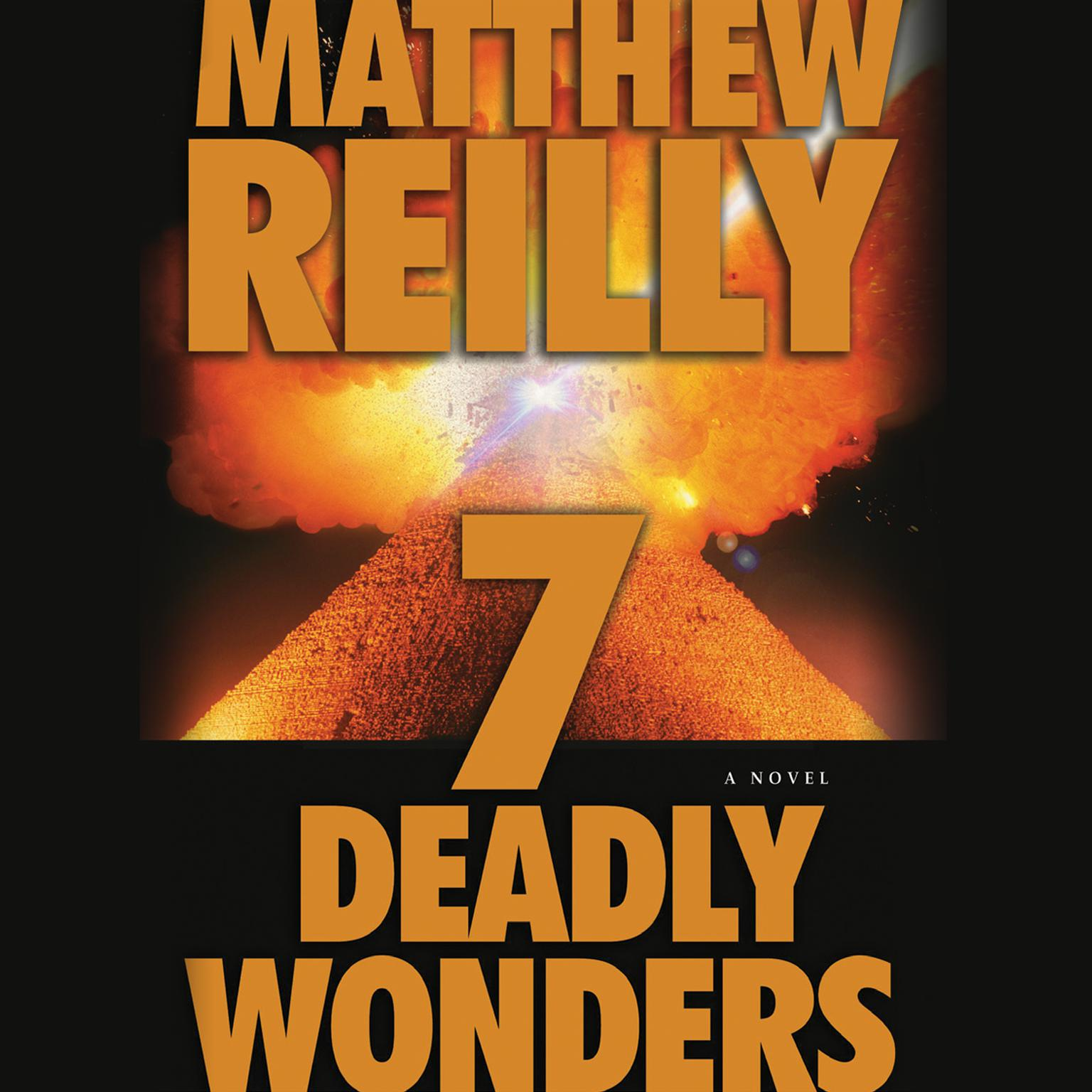 Printable Seven Deadly Wonders Audiobook Cover Art