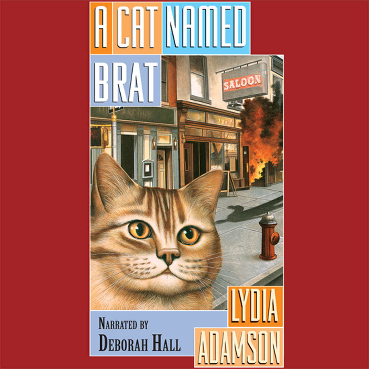 A Cat Named Brat Audiobook, by Lydia Adamson