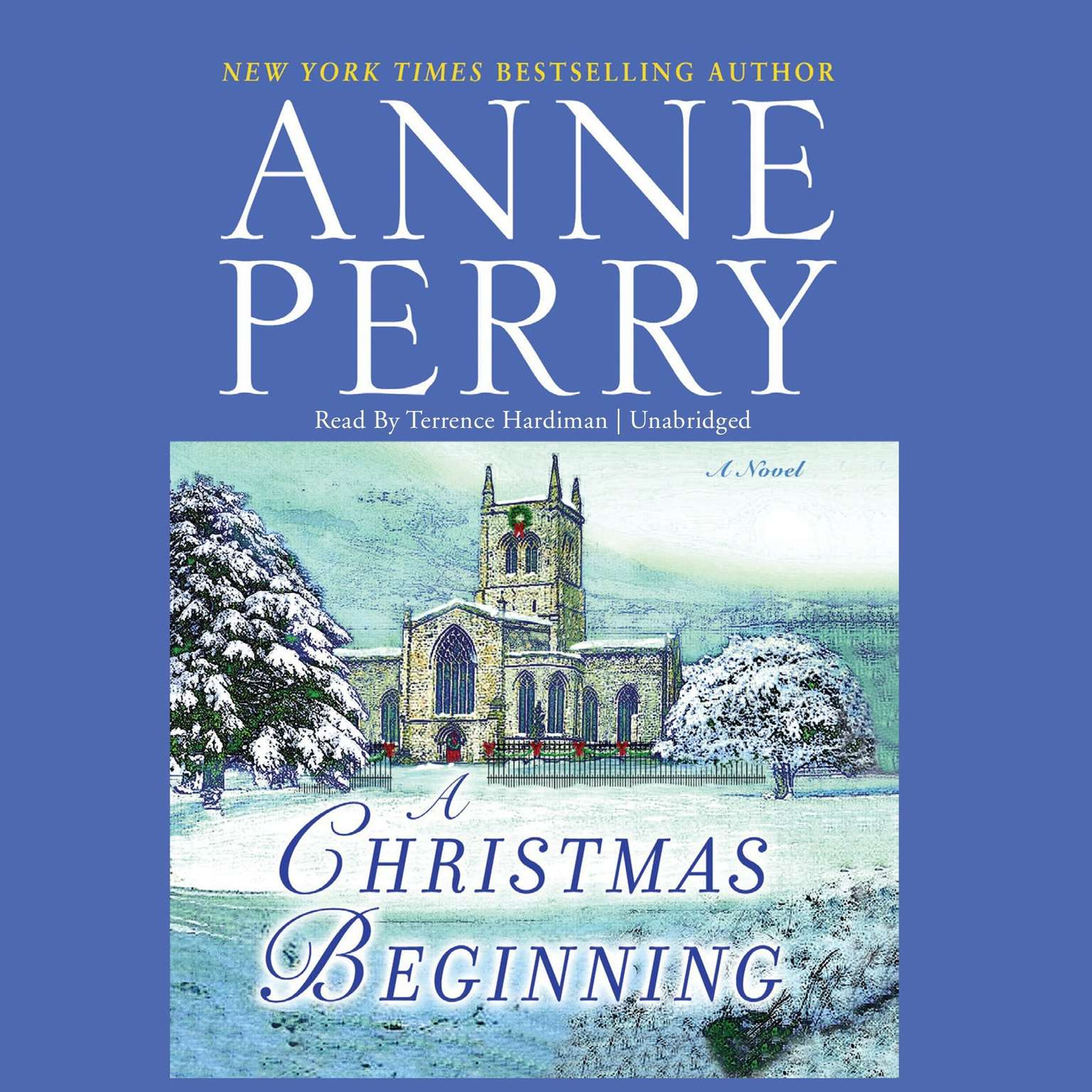 Printable A Christmas Beginning Audiobook Cover Art