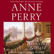 A Christmas Garland Audiobook, by Anne Perry